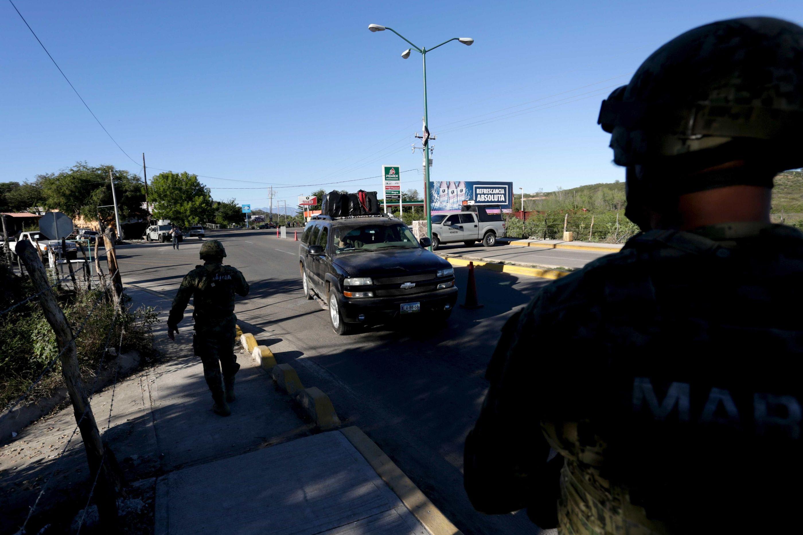 Dois mortos em confronto entre traficantes de migrantes no México