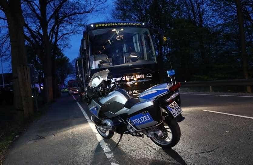 Autor de ataque a autocarro do Dortmund condenado a 14 anos de prisão