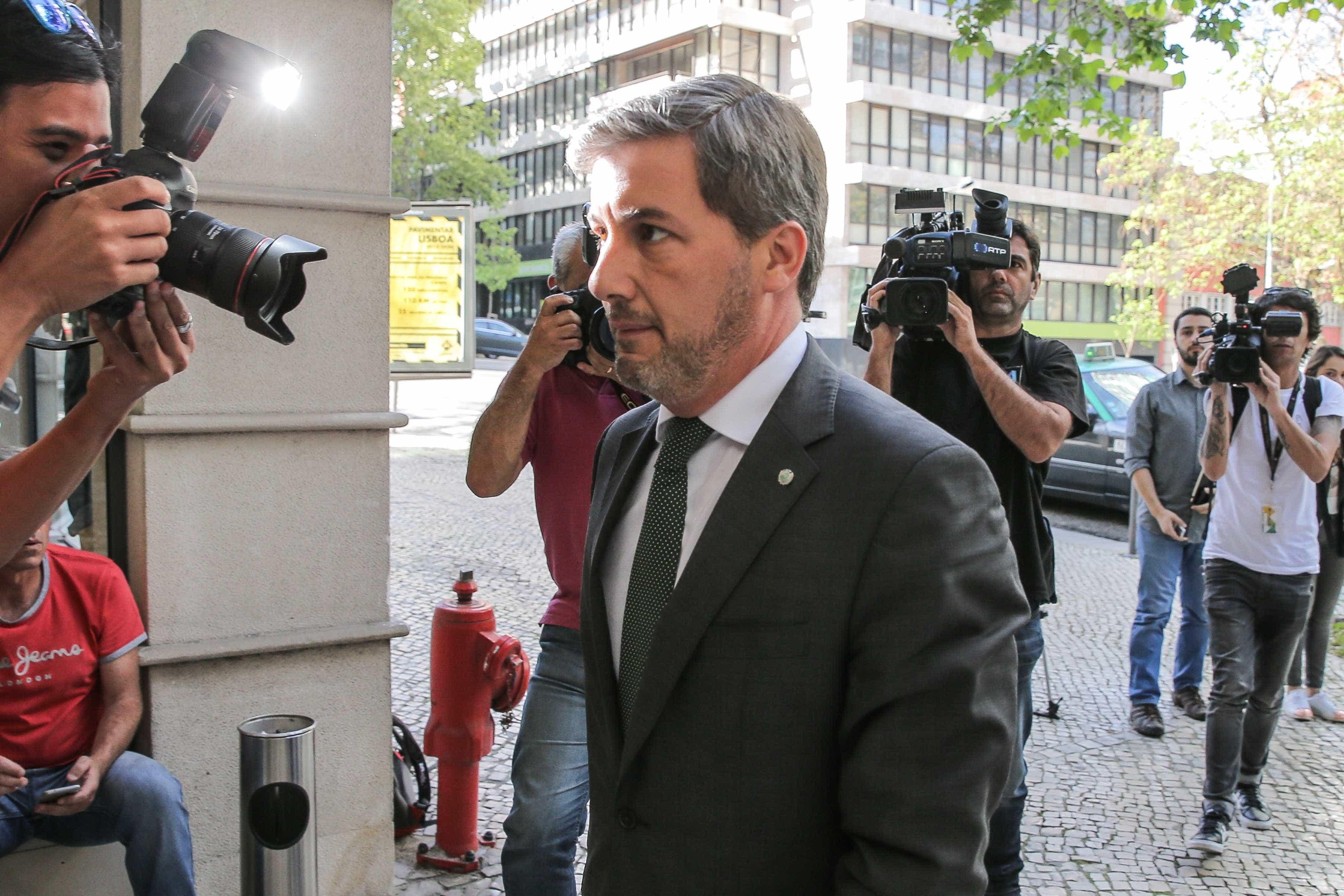 """Bruno de Carvalho quebra o silêncio: """"Estou quase a 100%"""""""