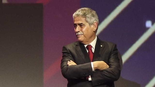 """""""O Benfica não se verga e o futuro do clube está no Seixal"""""""