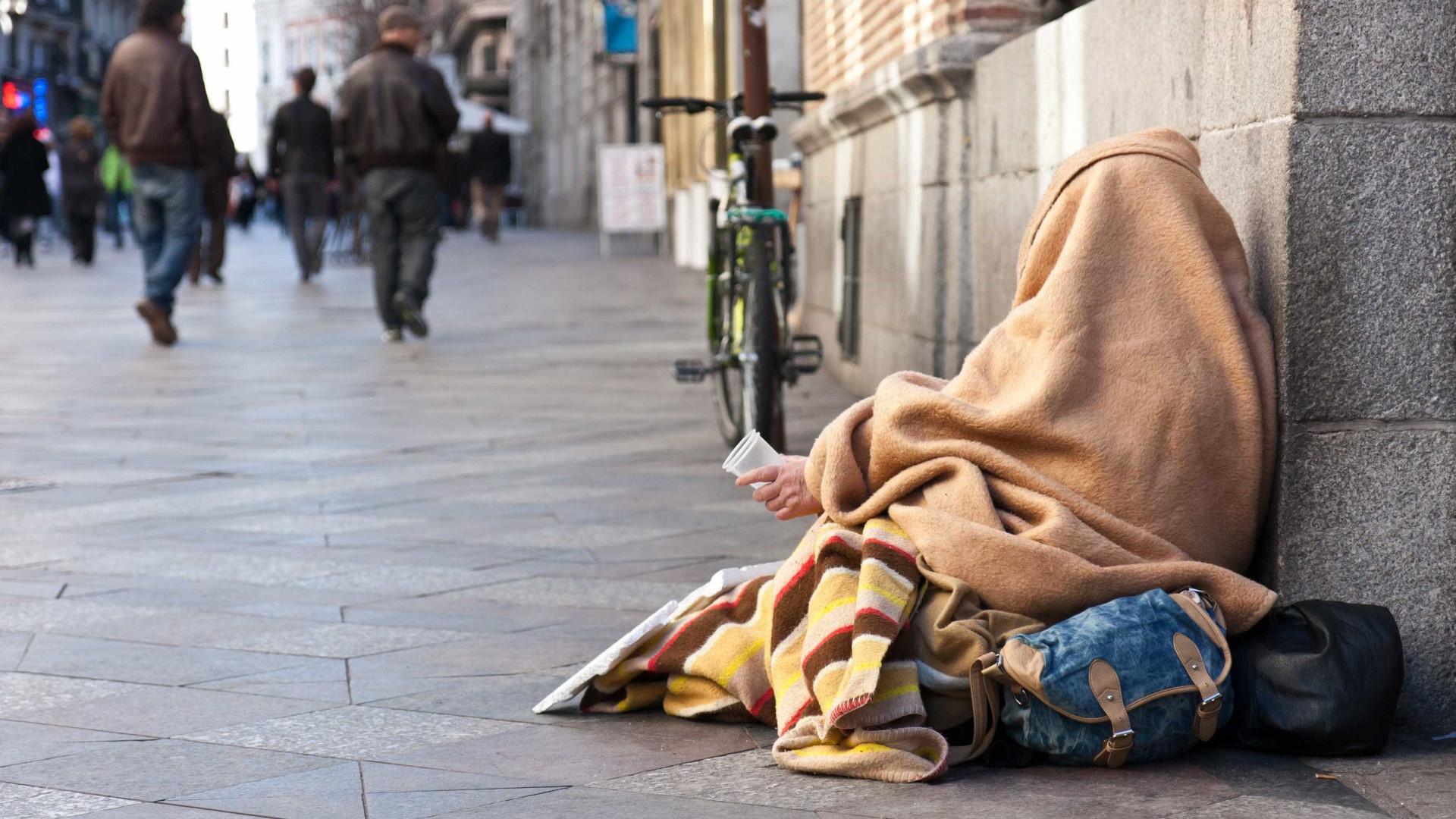 Seis sem-abrigo portugueses morreram nas ruas de França em 2020