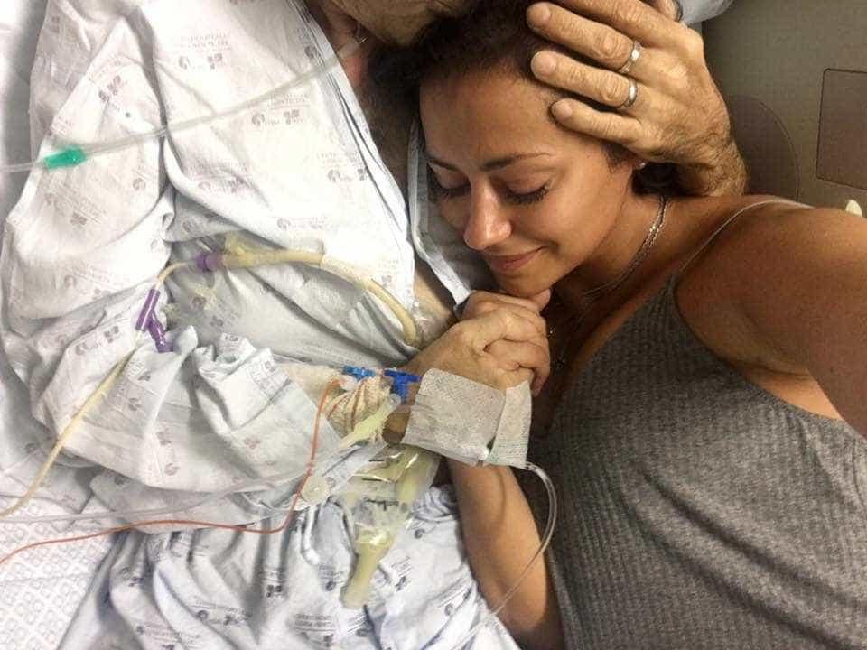 Sofia Ribeiro homenageia o pai um ano após a sua morte