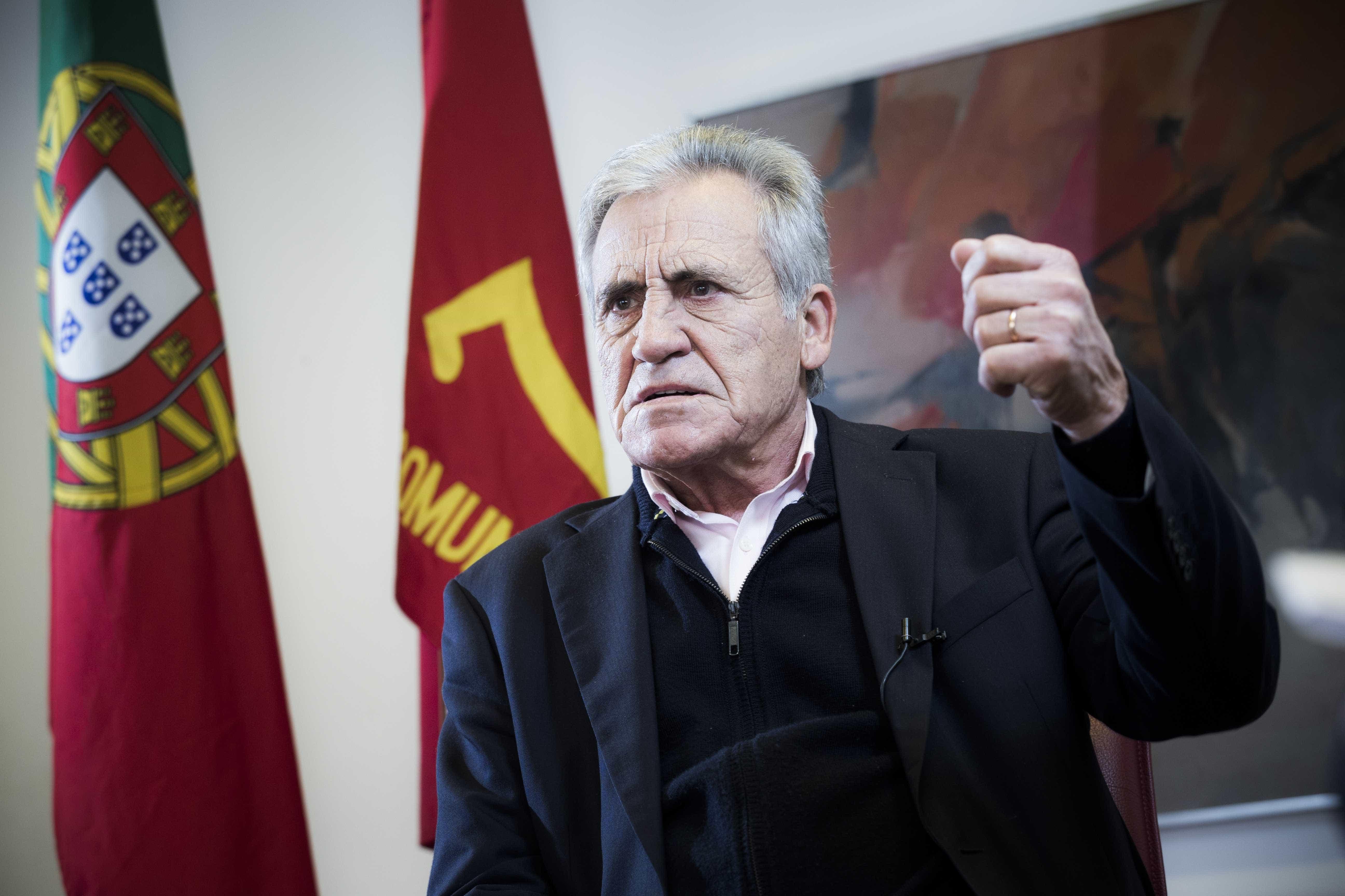 """Jerónimo diz não perceber """"preocupação"""" sobre lei de bases da Saúde"""