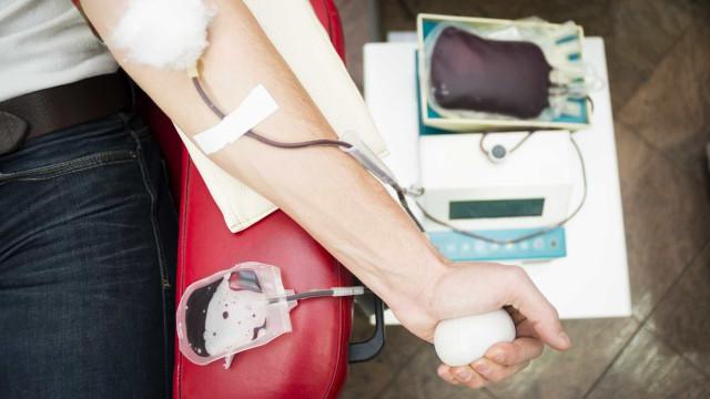 É dador de sangue? Só há reservas do tipo 0 negativo para quatro dias