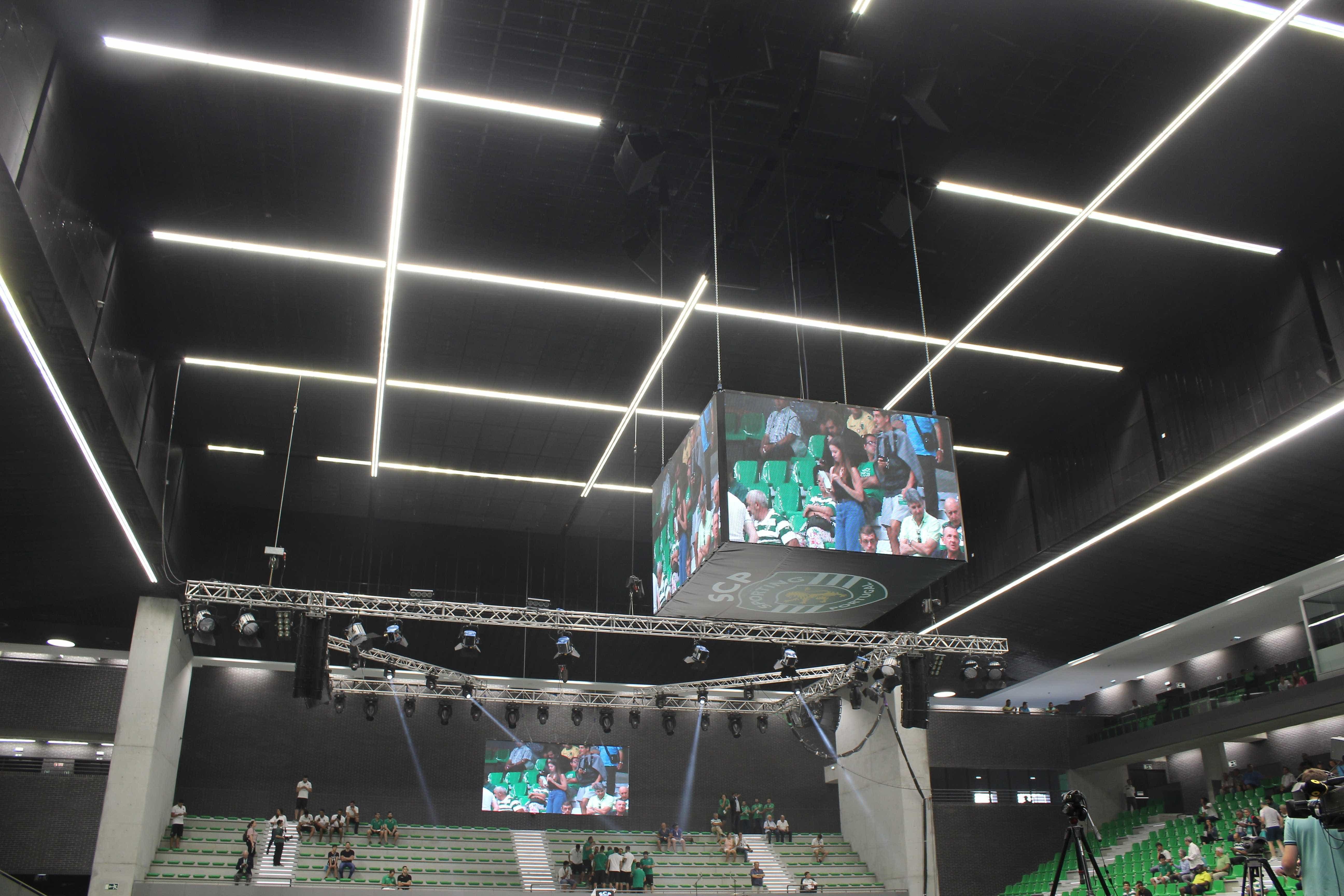 Sporting já reagiu à decisão de quatro jogos à porta fechada no futsal