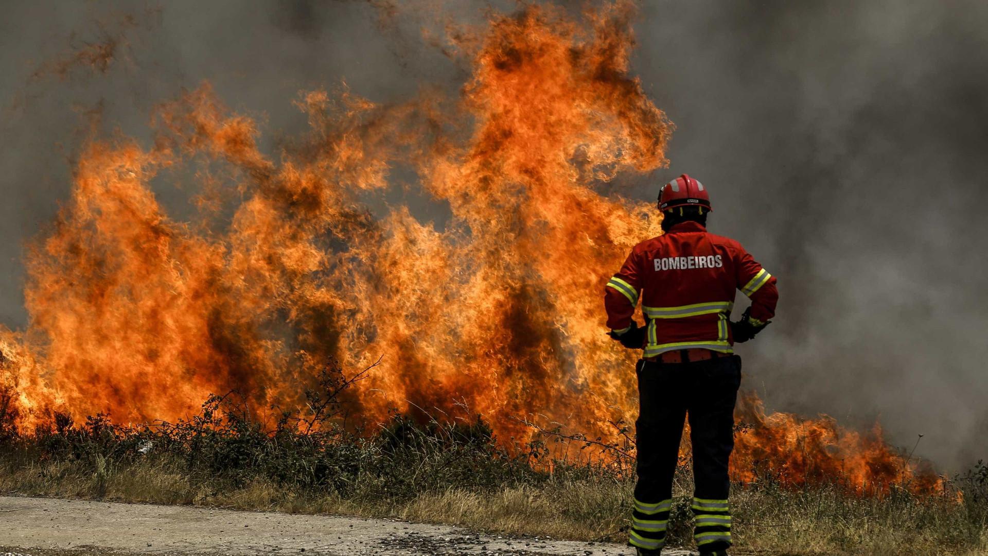 """Quatro meios aéreos a combater chamas em Barcelos. Fogo """"controlado"""""""