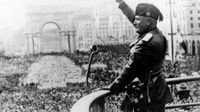 Bisneto do ditador Mussolini é candidato por partido de extrema-direita