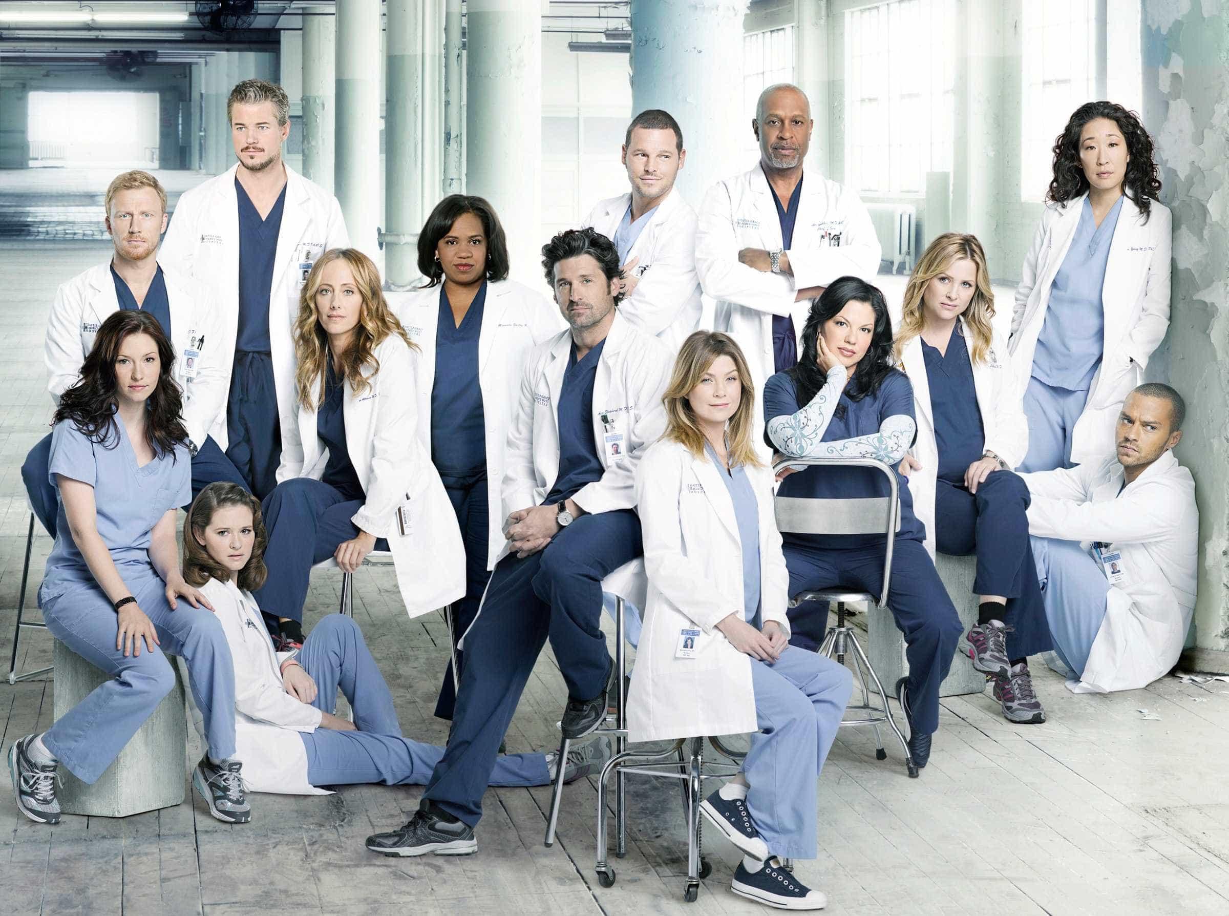'Grey's Anatomy' torna-se a série médica mais longa da TV americana