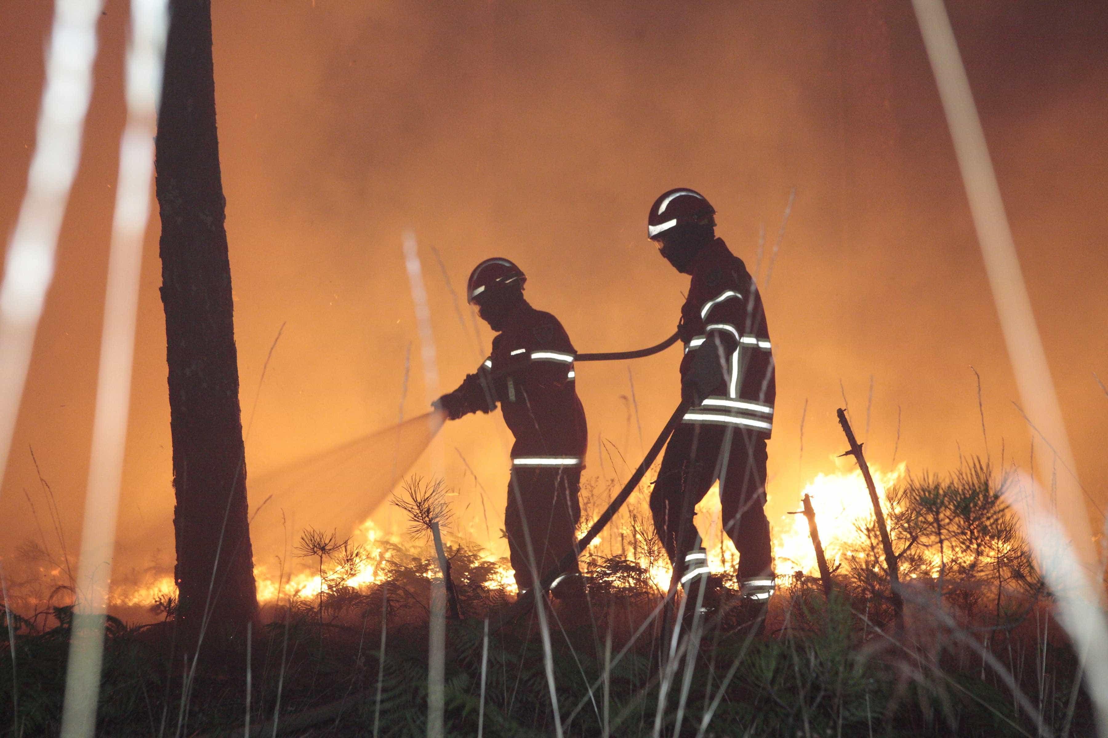 Governo declara alerta nacional perante risco de incêndio até domingo