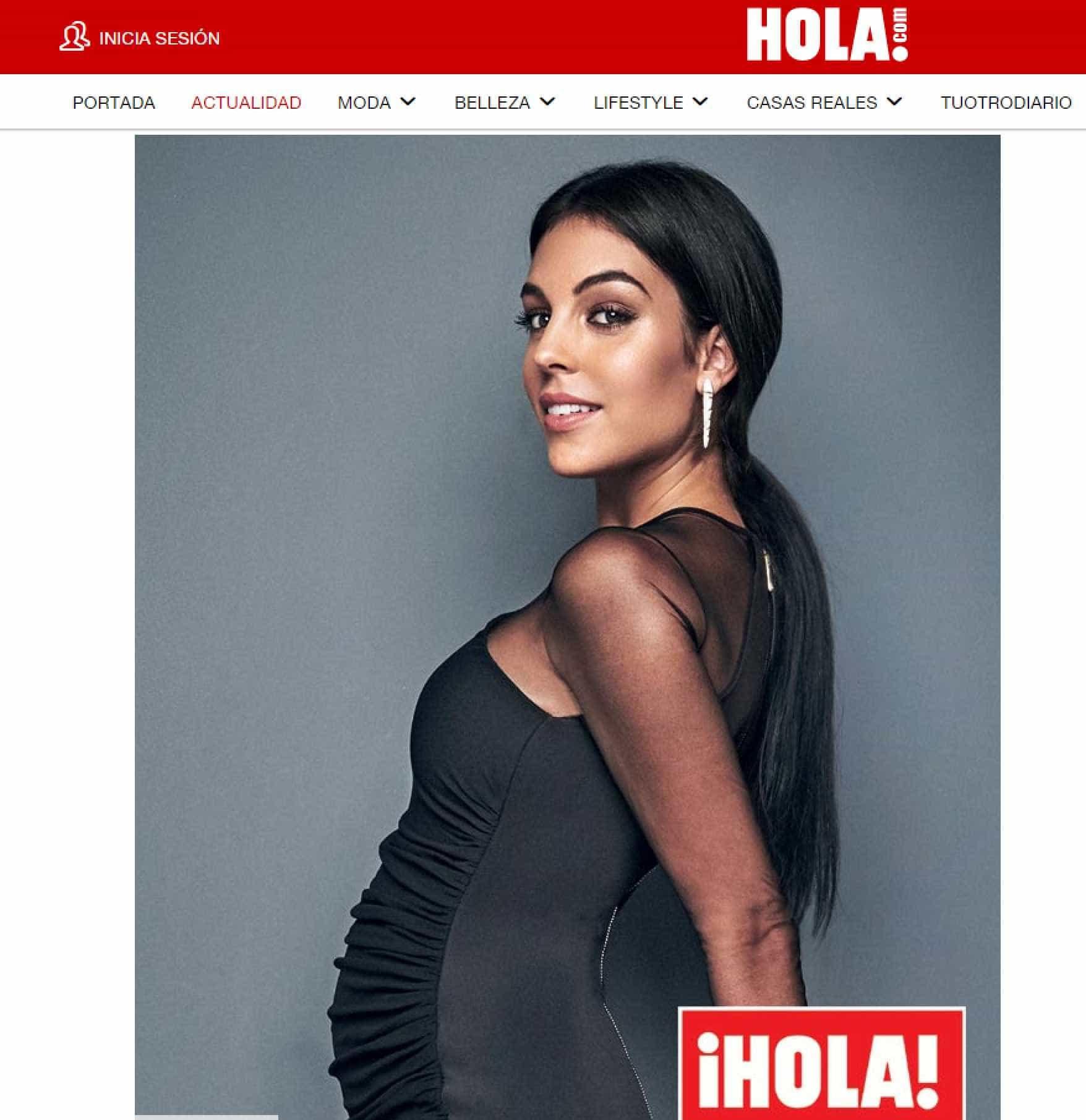 Georgina Rodríguez deixa os seguidores 'nas nuvens' com nova foto