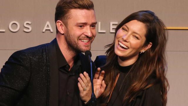 Jessica Biel adormece a caminho do aniversário de Justin Timberlake