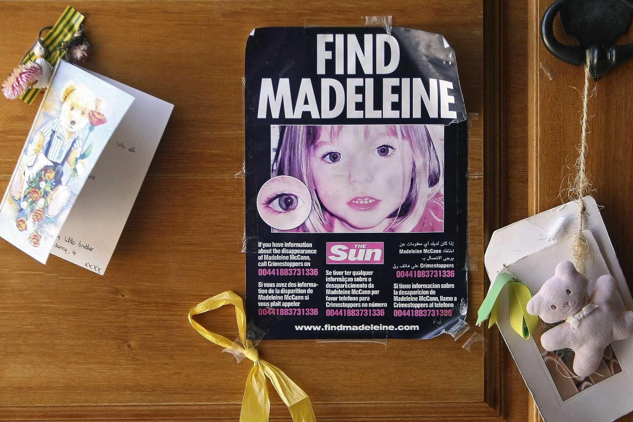 Governo britânico dá mais 175 mil euros para investigação de 'Maddie'