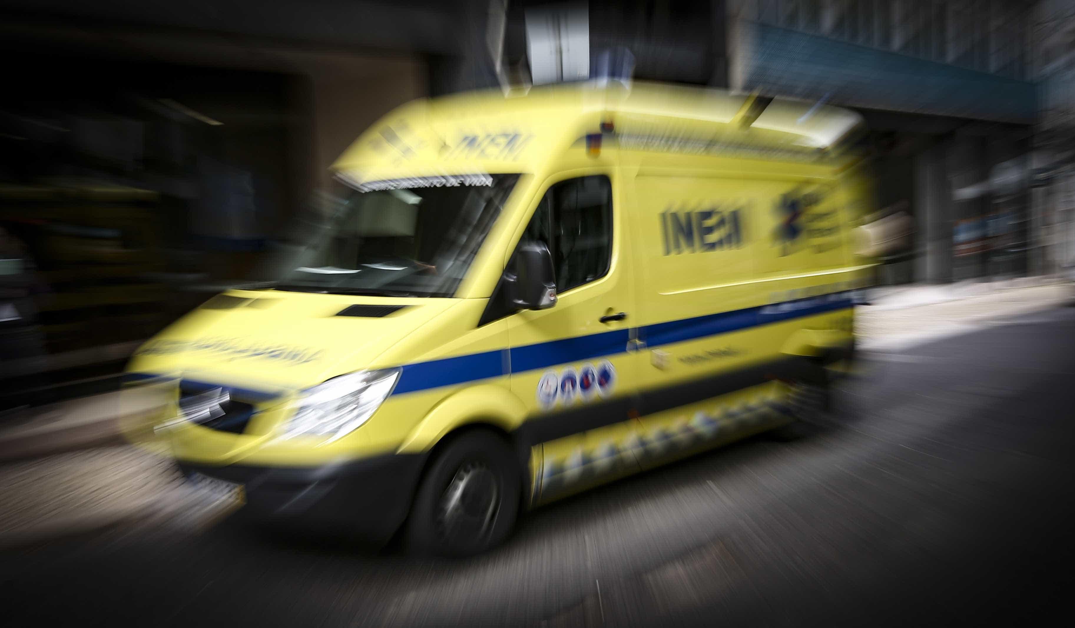 Colisão em cadeia entre pesados e ligeiros faz 16 feridos na A6 em Elvas