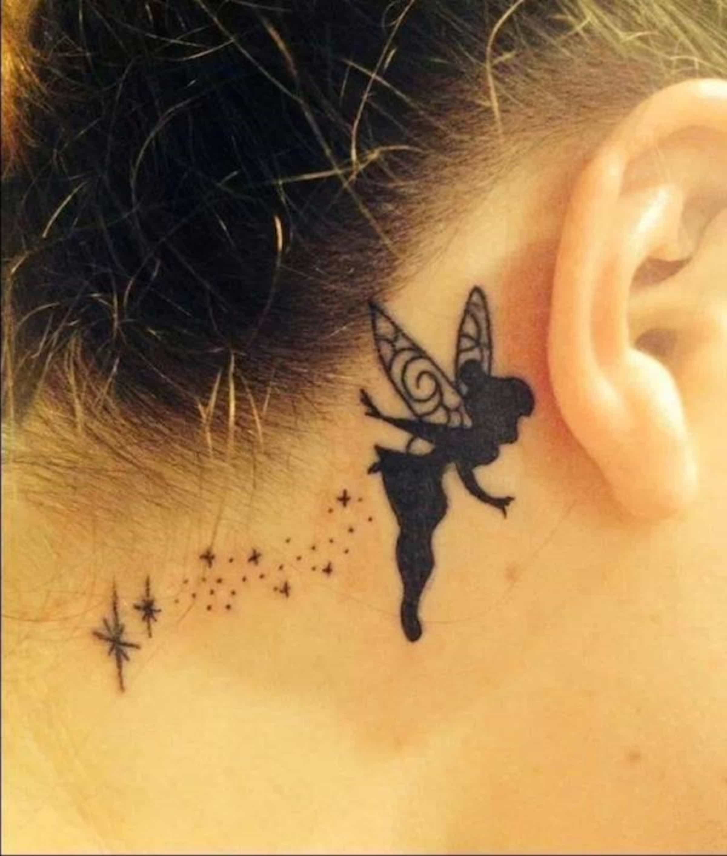 Tatuagens simples, pequenas... mas que enchem as medidas