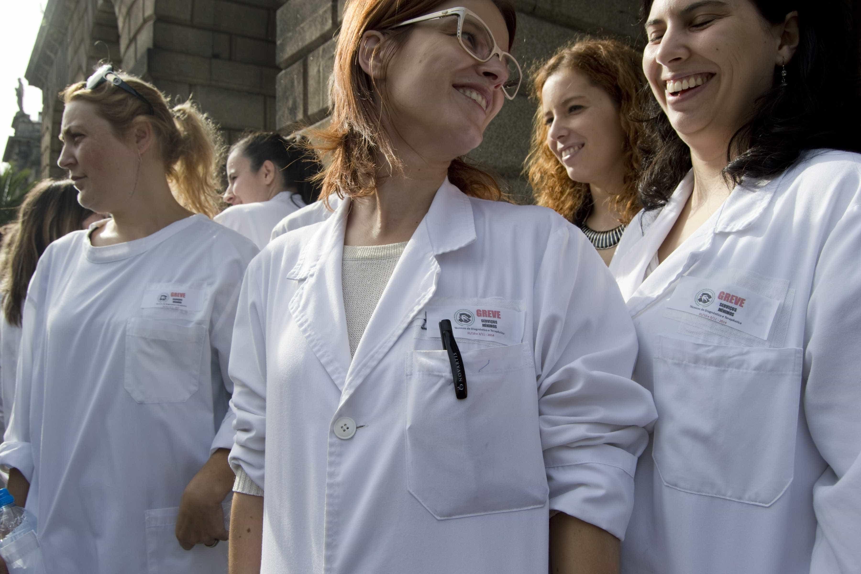 Greve dos técnicos de diagnóstico com adesão entre 85% a 90%