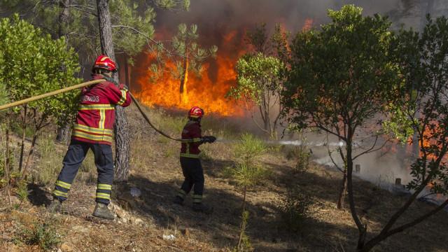 Bombeiros alertados para incêndio encontraram corpo carbonizado