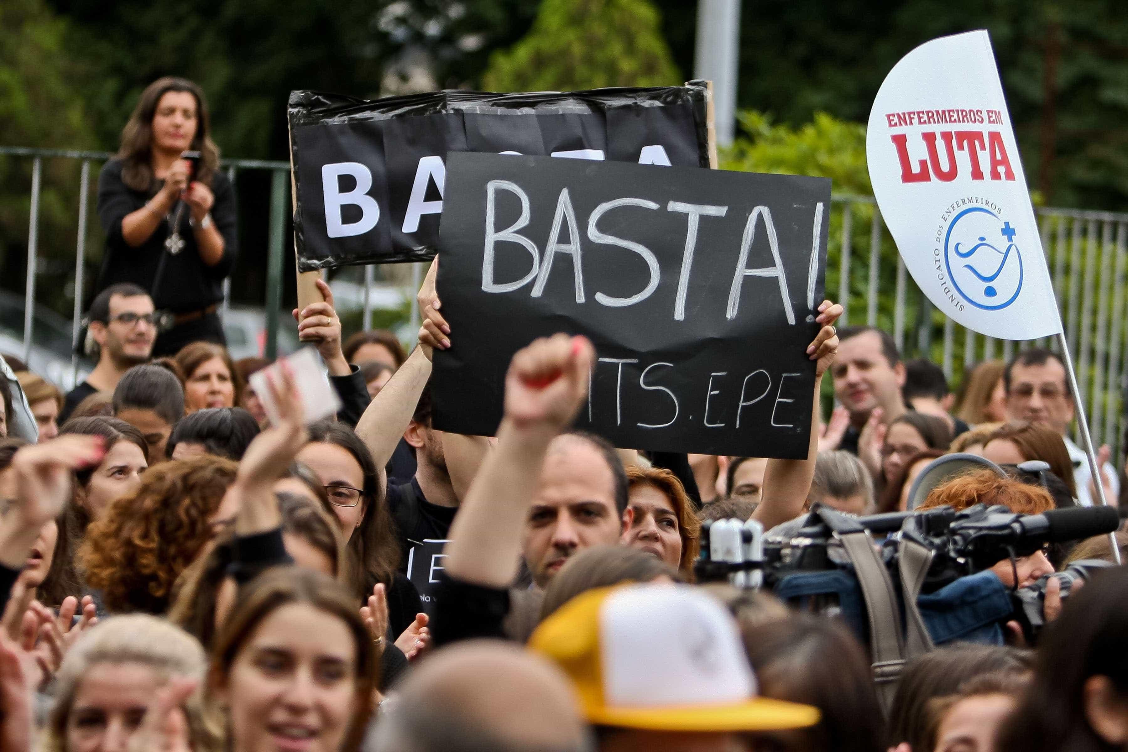 Enfermeiros: Sindicato pede que tribunal rejeite requisição civil em 48h
