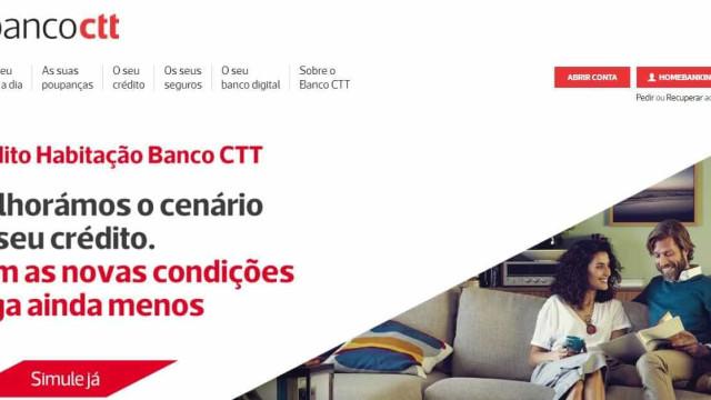 Banco CTT é o mais reclamado, tanto em contas como no crédito habitação