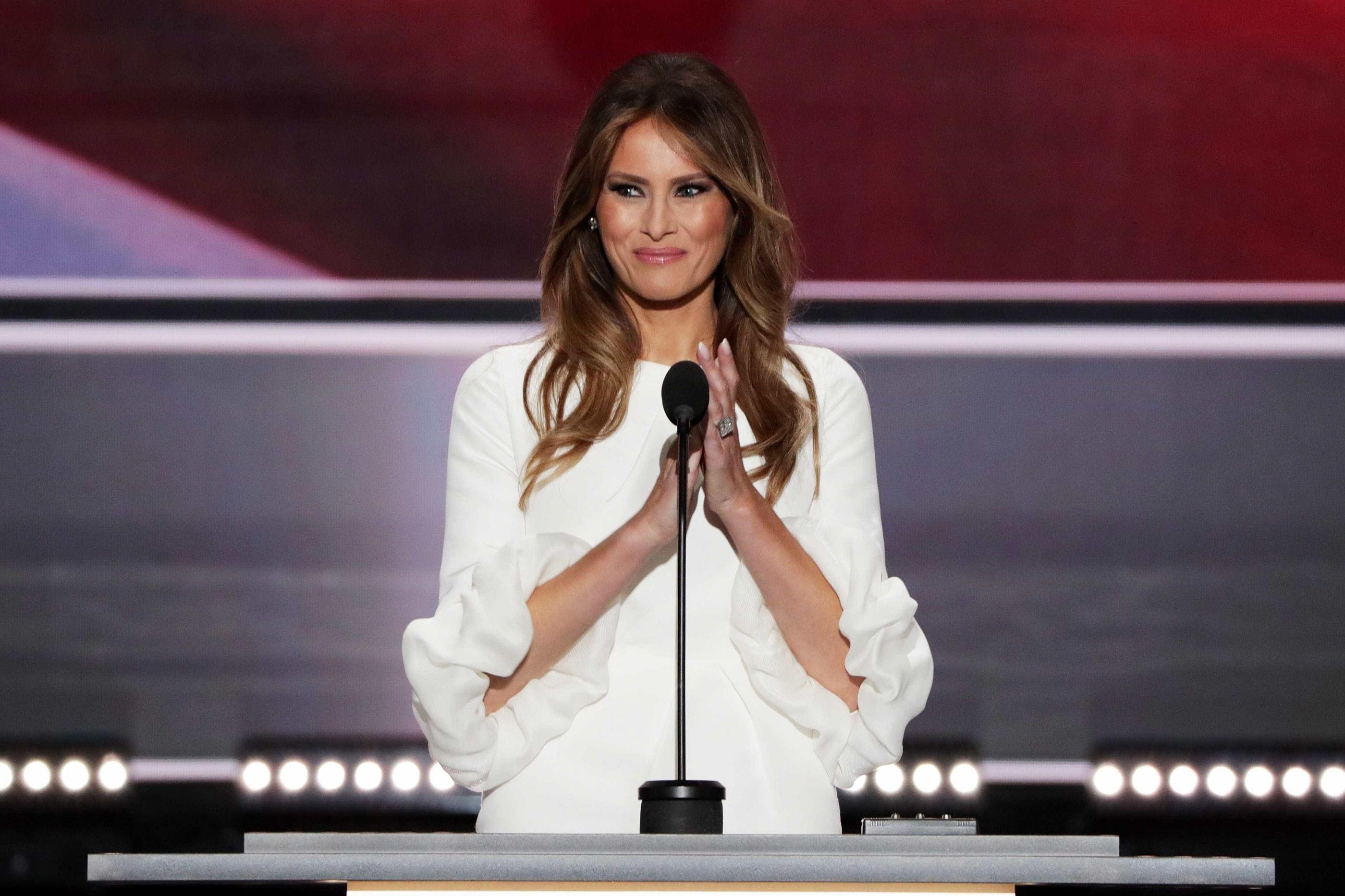 O novo visual de Melania Trump que não passou despercebido