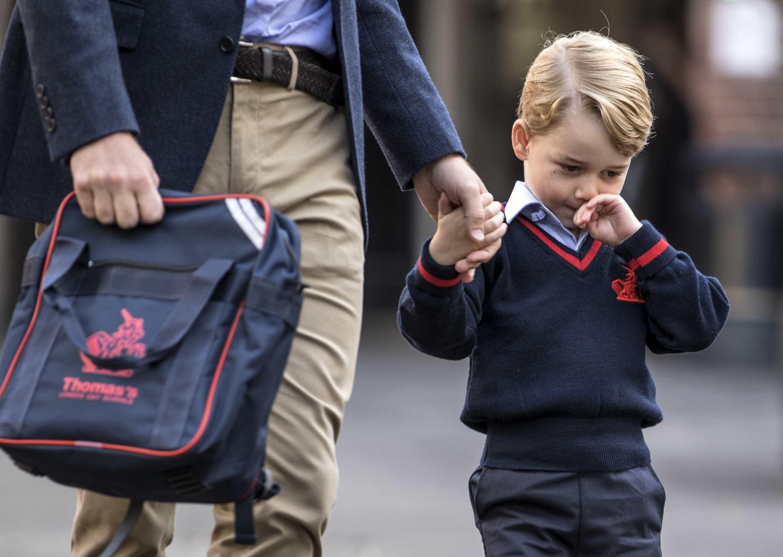 As peculiares tradições dos bebés da realeza britânica