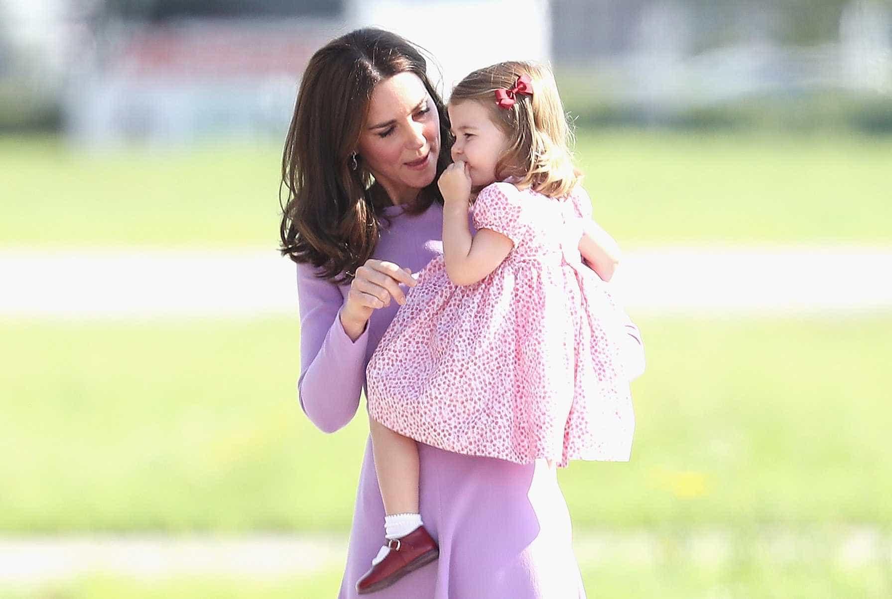 Kate Middleton e o nome carinhoso pelo qual trata a filha