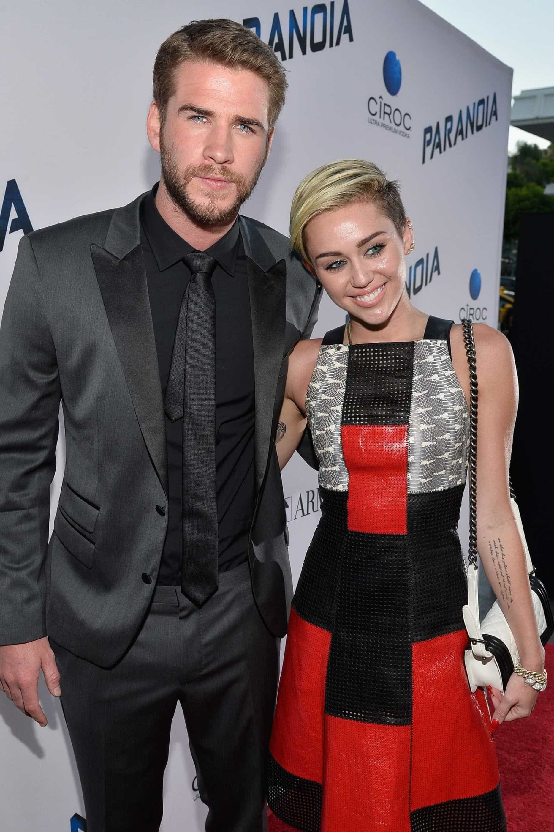 Casados de fresco e animados! Miley Cyrus divulga novo vídeo do casamento