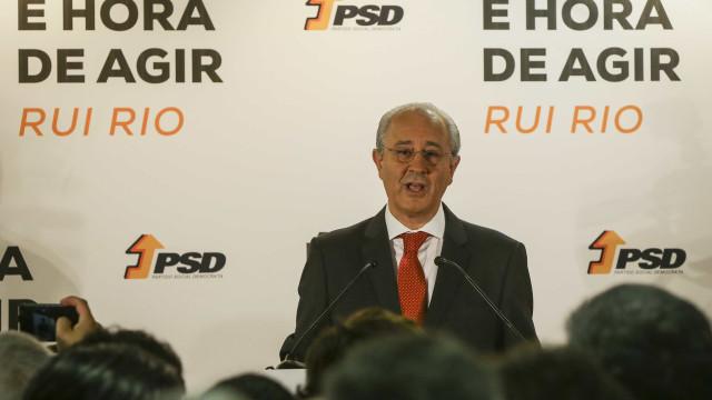"""Rio recusa comentar lista do PSD """"em público"""""""