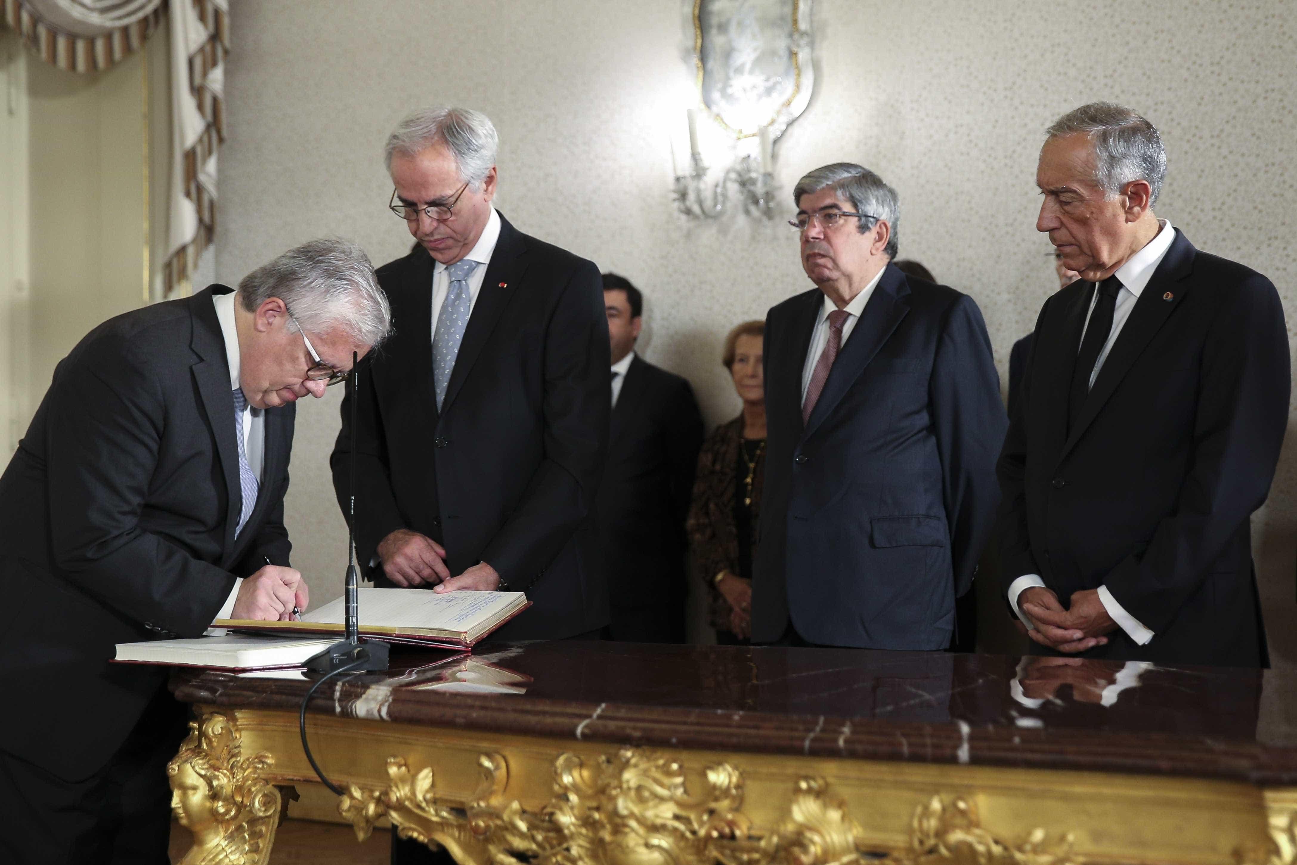 Remodelação: Já tomaram posse os novos ministros e secretários de Estado