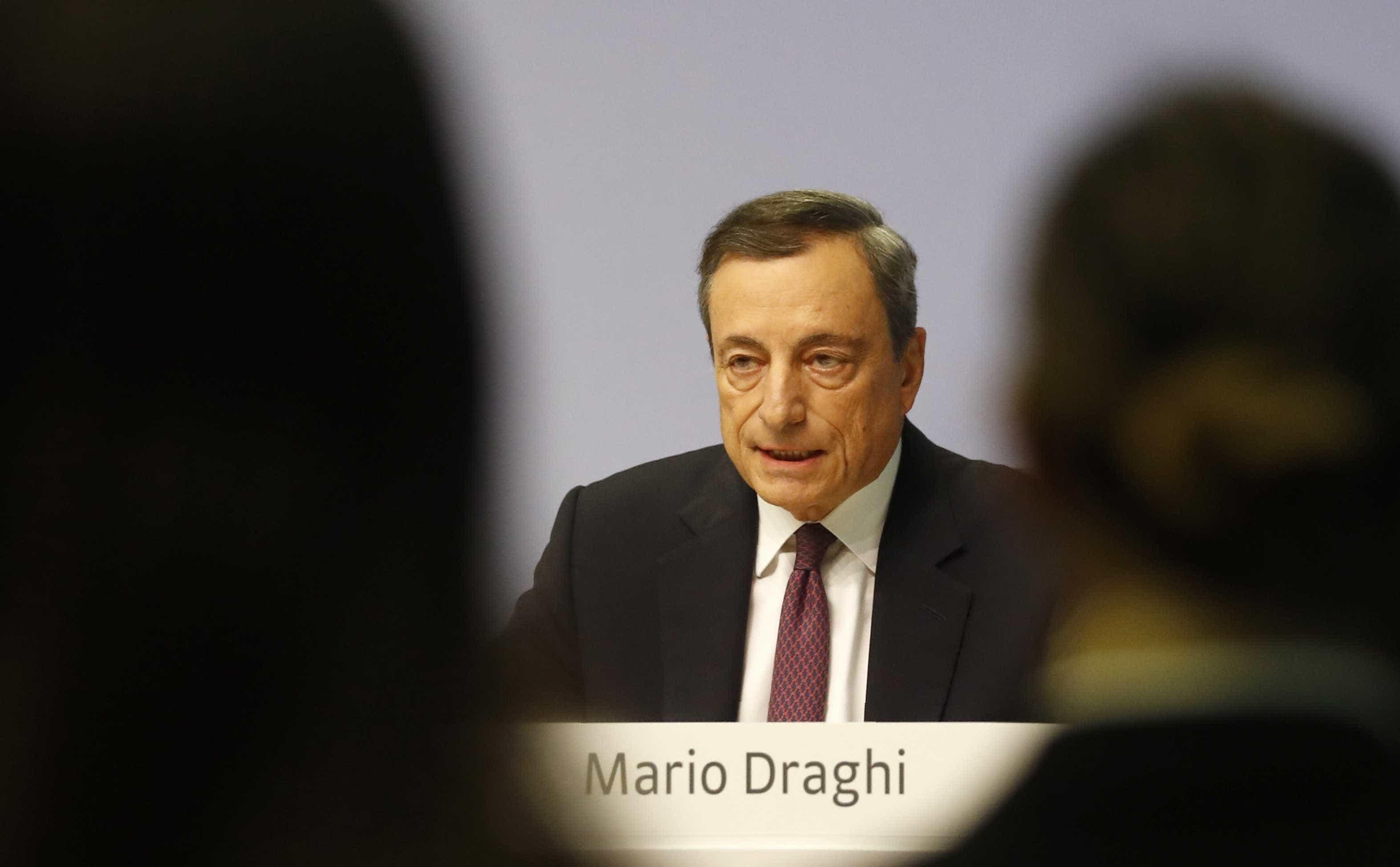 Draghi defende independência dos bancos centrais face ao poder político