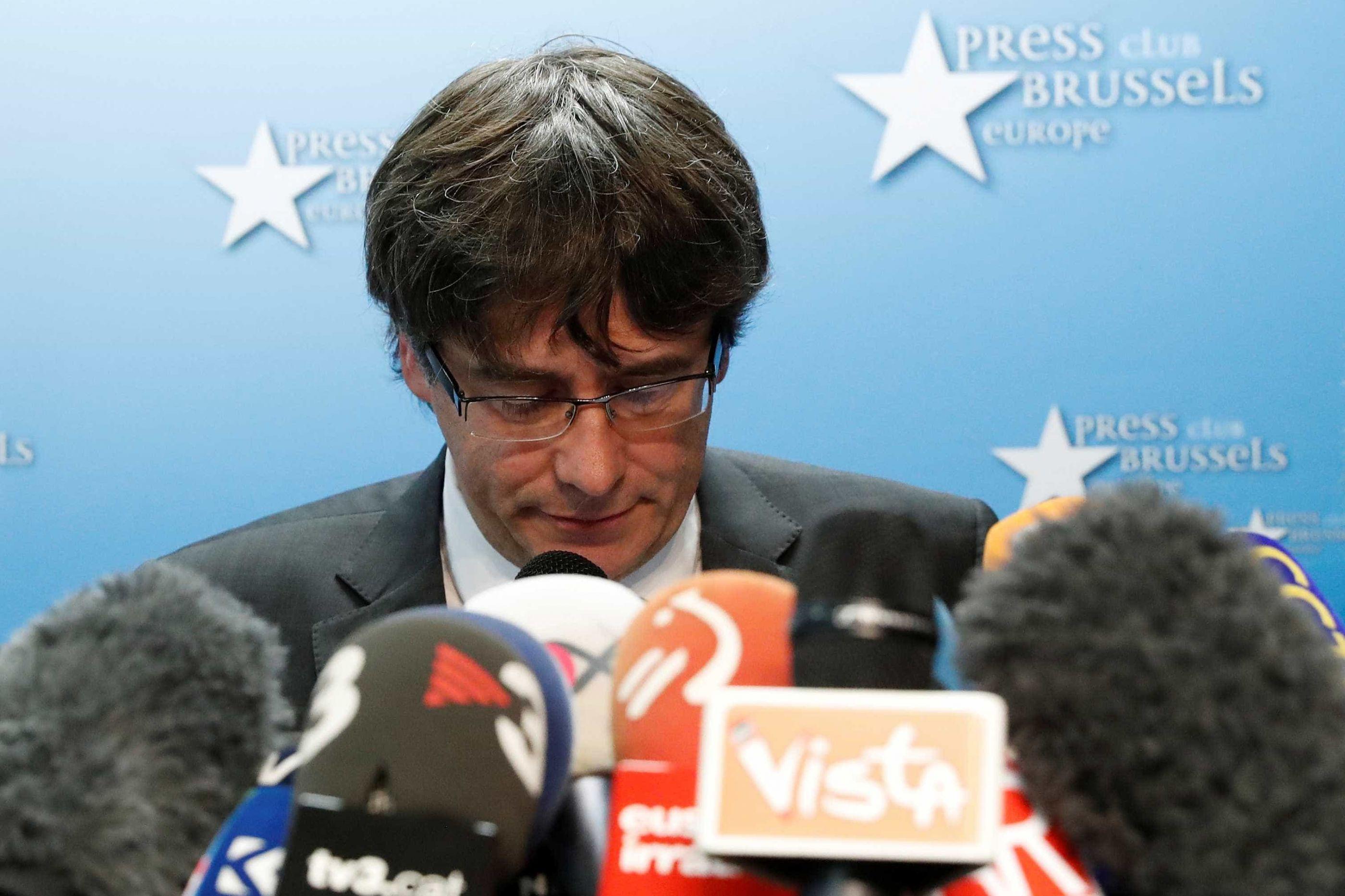 Pedido mandado de captura europeu para Puigdemont