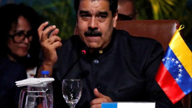 Apagão em Caracas interrompeu conferência de imprensa de Maduro