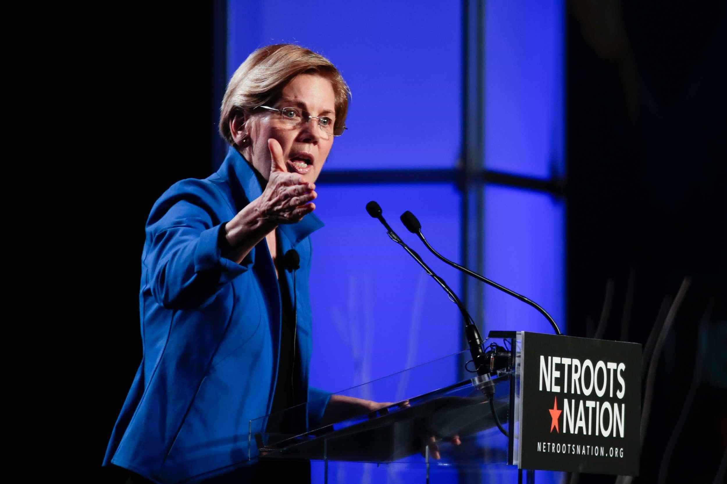 Elizabeth Warren dá primeiro passo para concorrer a Presidente dos EUA