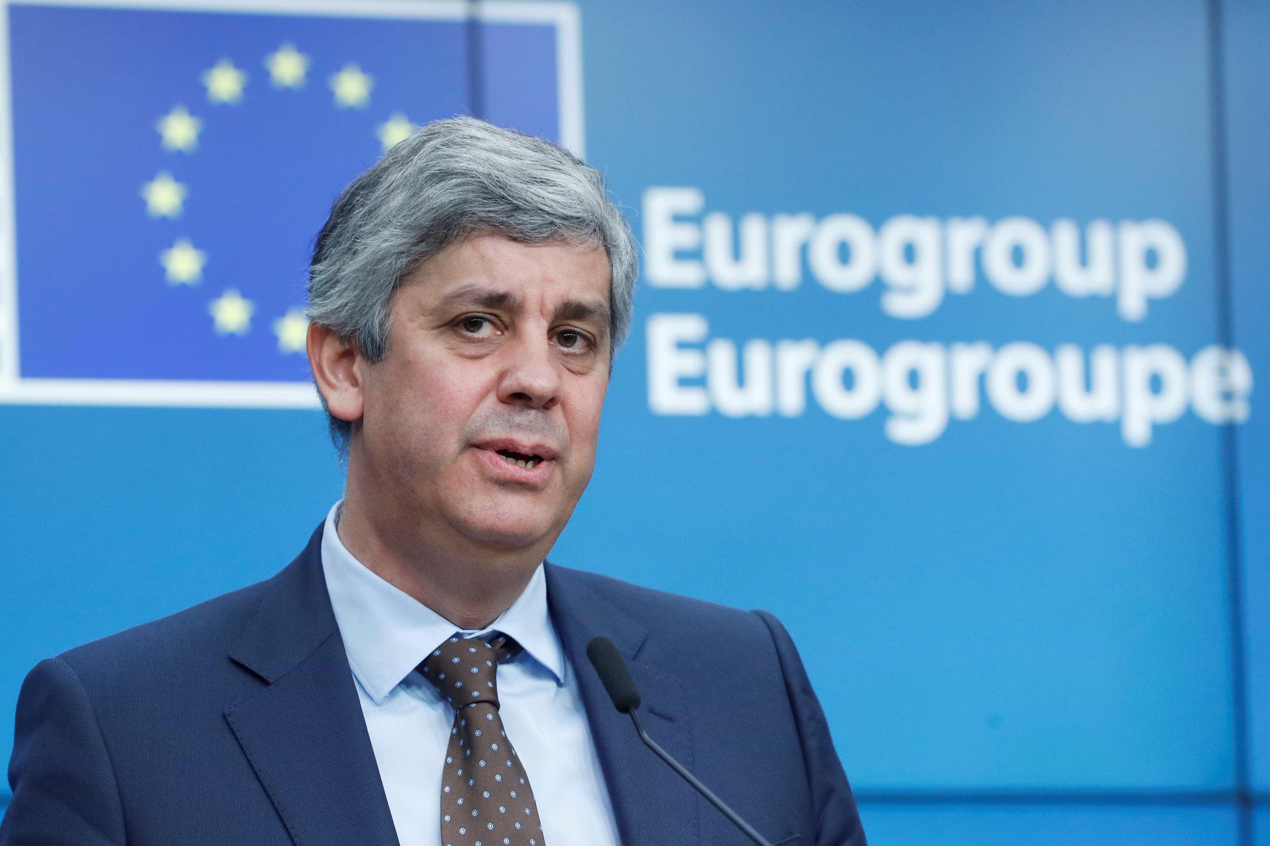 Centeno quer avanços já hoje na proposta de orçamento para a zona euro