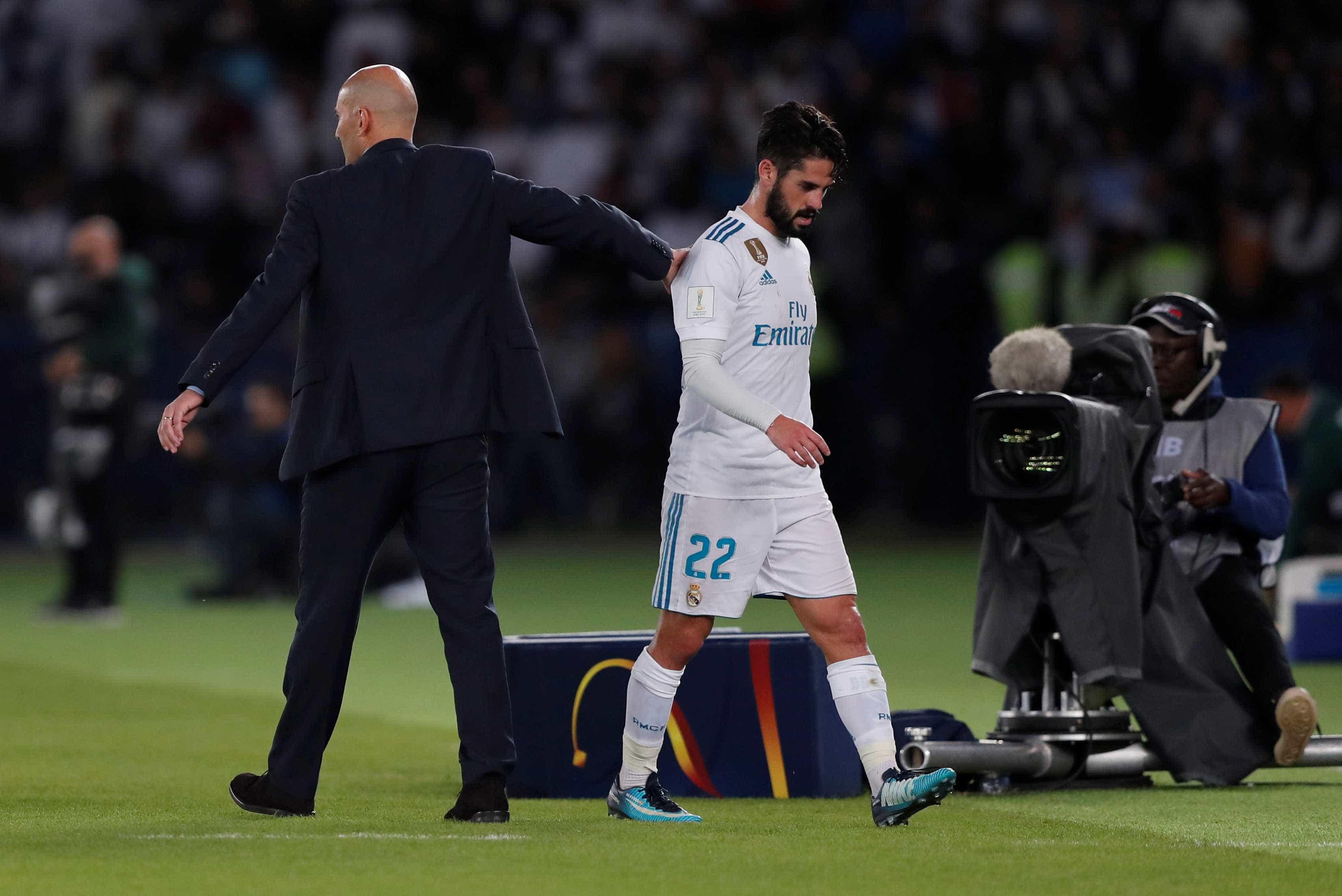 Isco comenta regresso de Zidane e adeus a 'calvário' com Solari