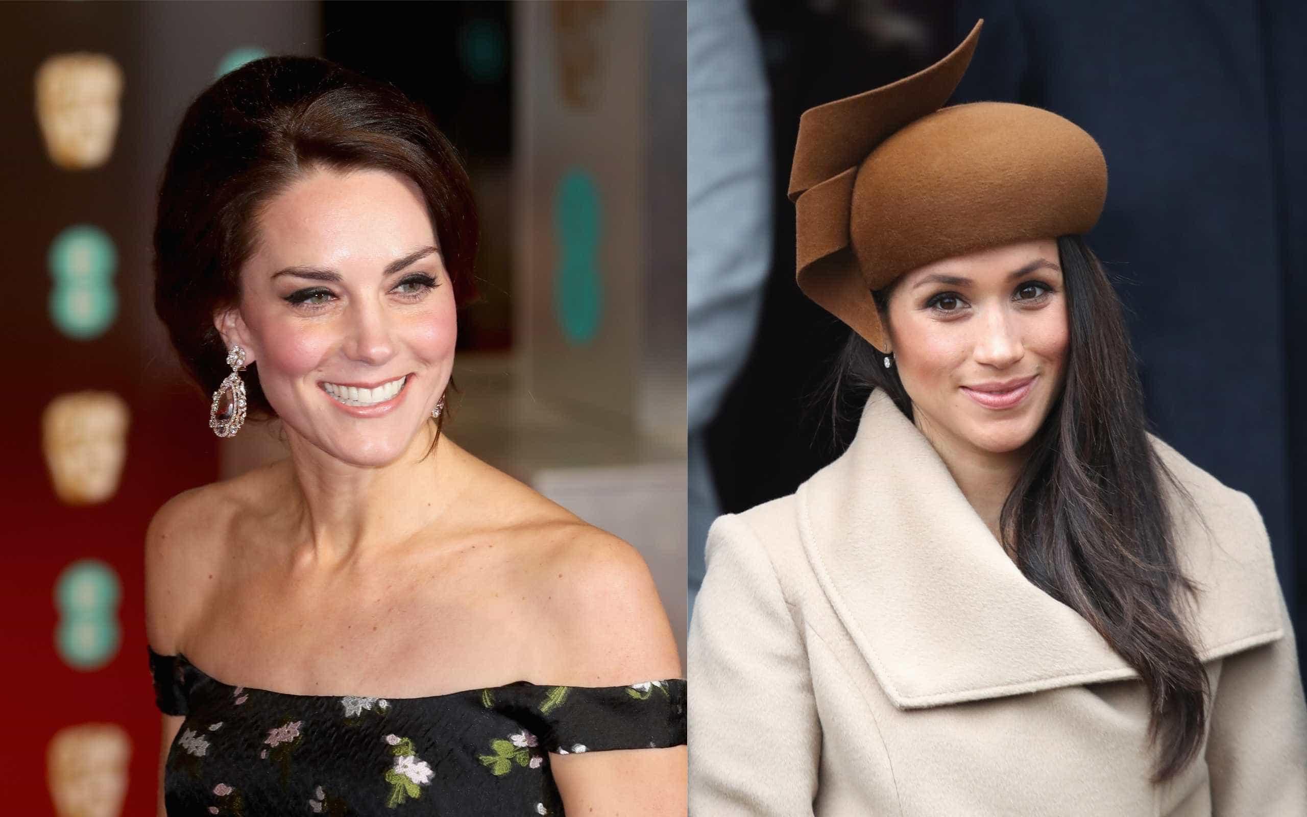 Pequeno detalhe aumenta rumor de mal-estar entre Kate e Meghan Markle