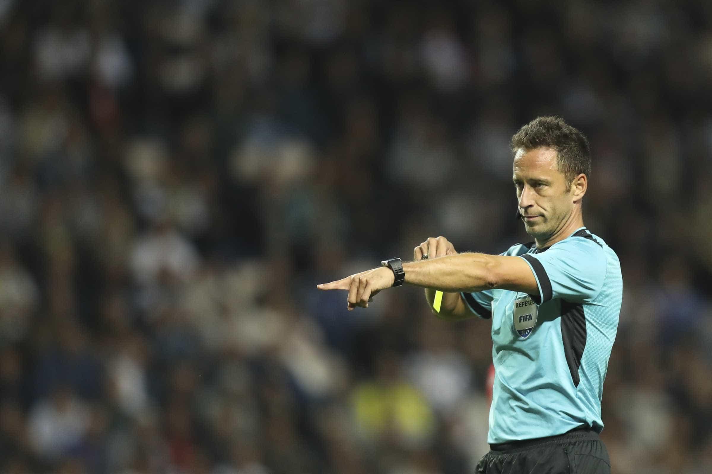 Artur Soares Dias apita Feirense-FC Porto