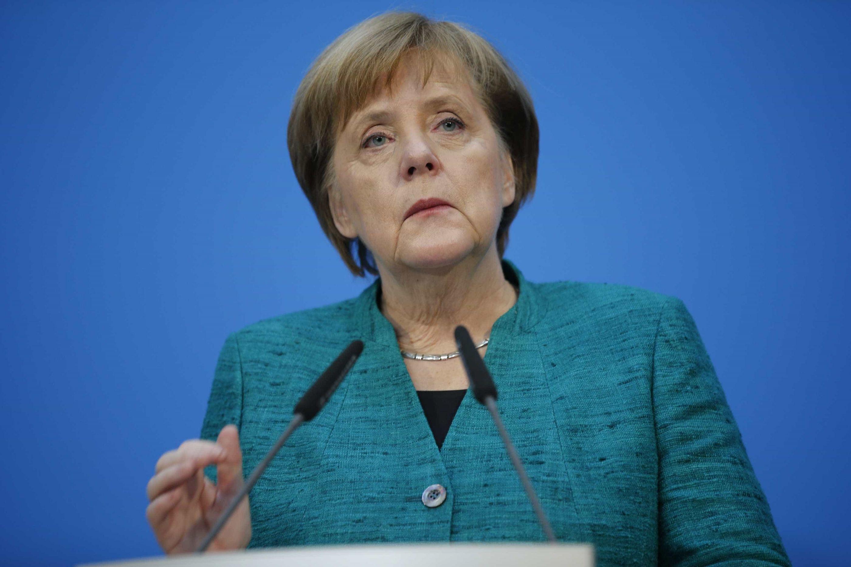 Merkel não se vai recandidatar à liderança da CDU