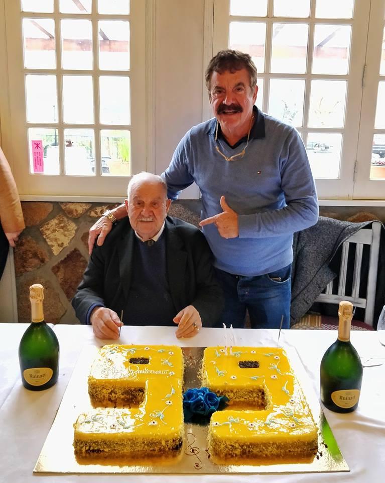Pai de Quim Barreiros completa 100 anos