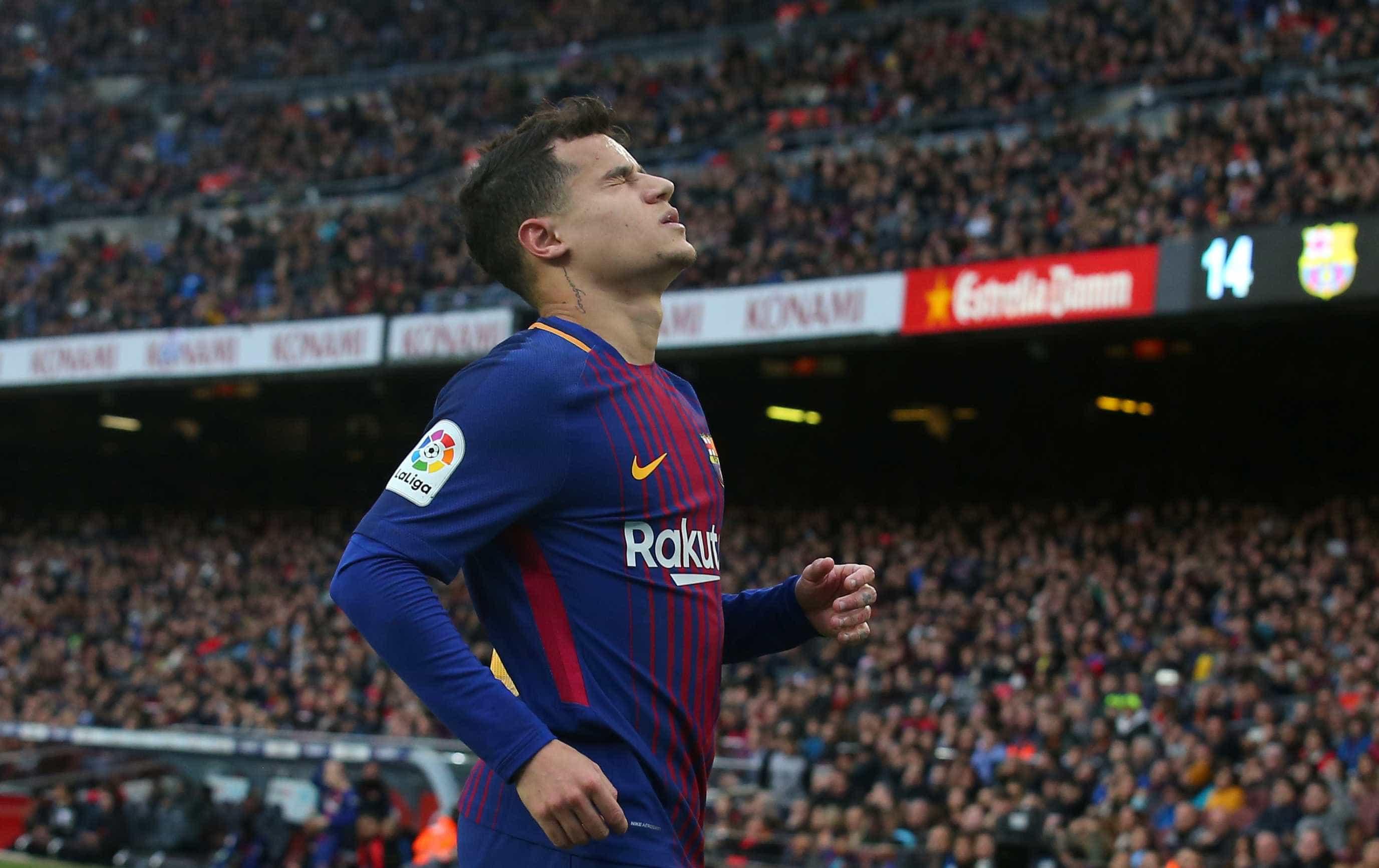 Coutinho pede ao Manchester United que o 'resgate' de Barcelona