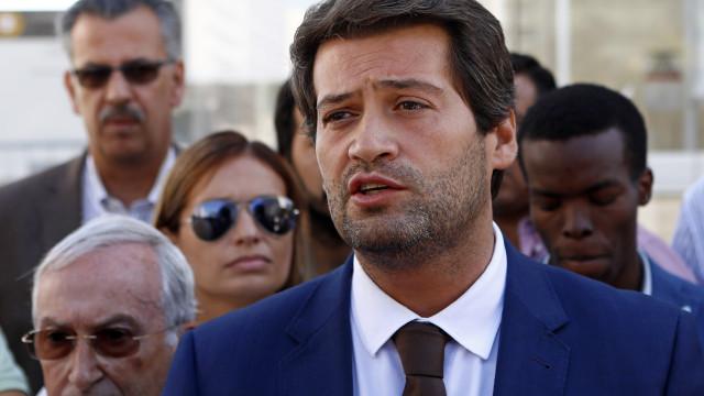 """""""Esta coligação vai abalar o sistema da República"""", garante André Ventura"""