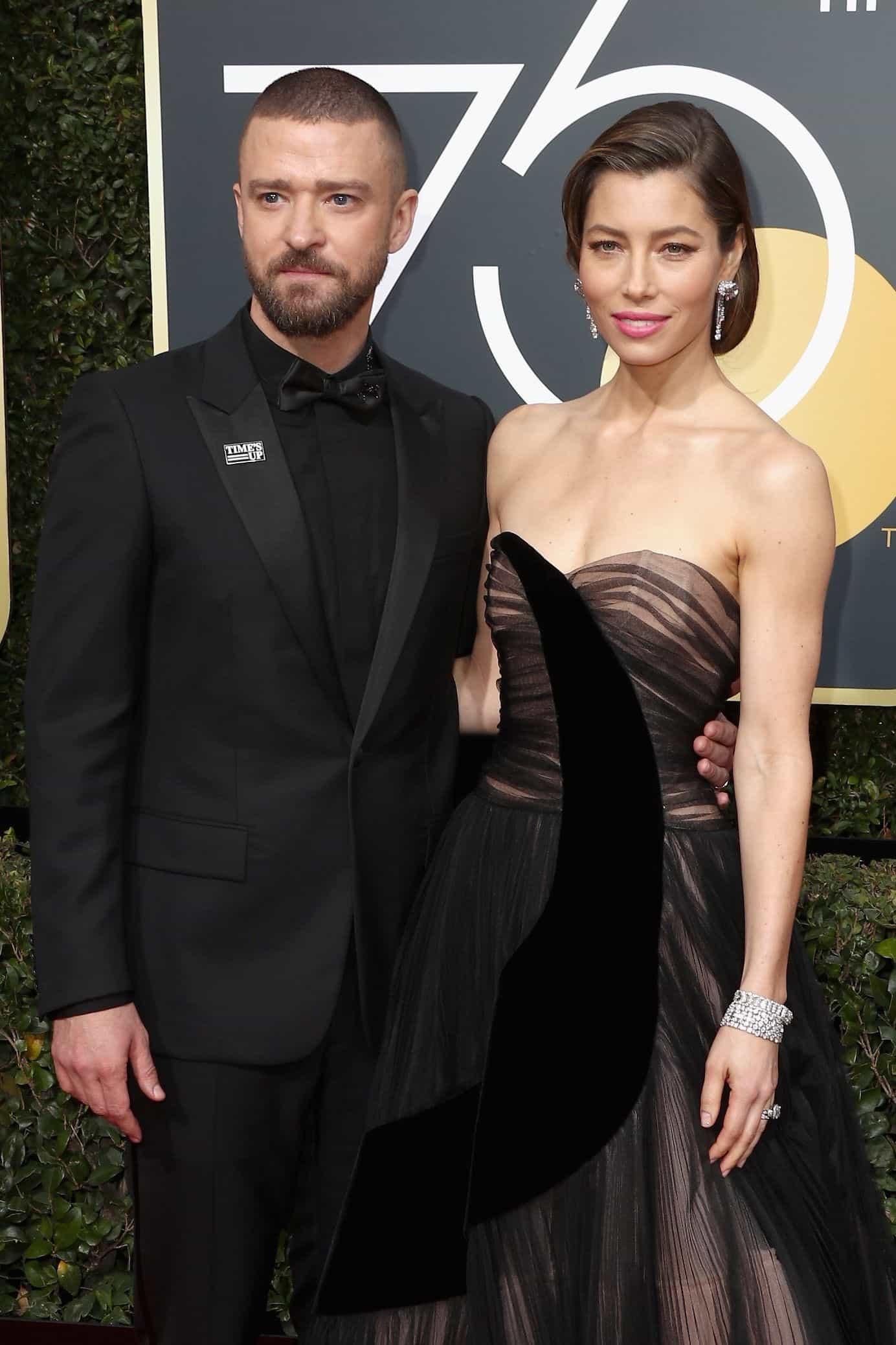 Jessica Biel e Justin Timberlake celebraram aniversário de casamento