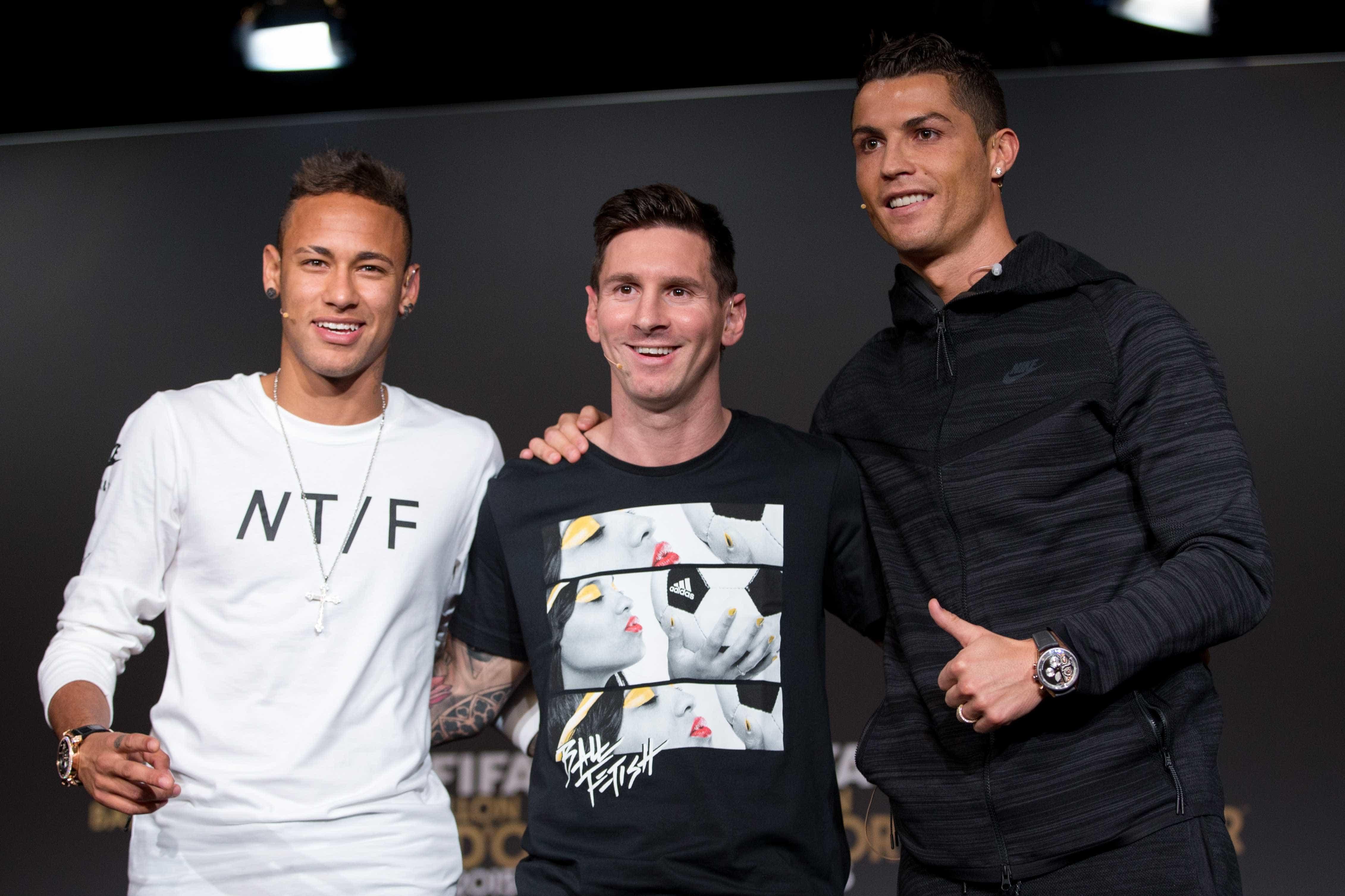 """""""CR7 e Messi só pensam em futebol. Neymar pensa noutras coisas"""""""
