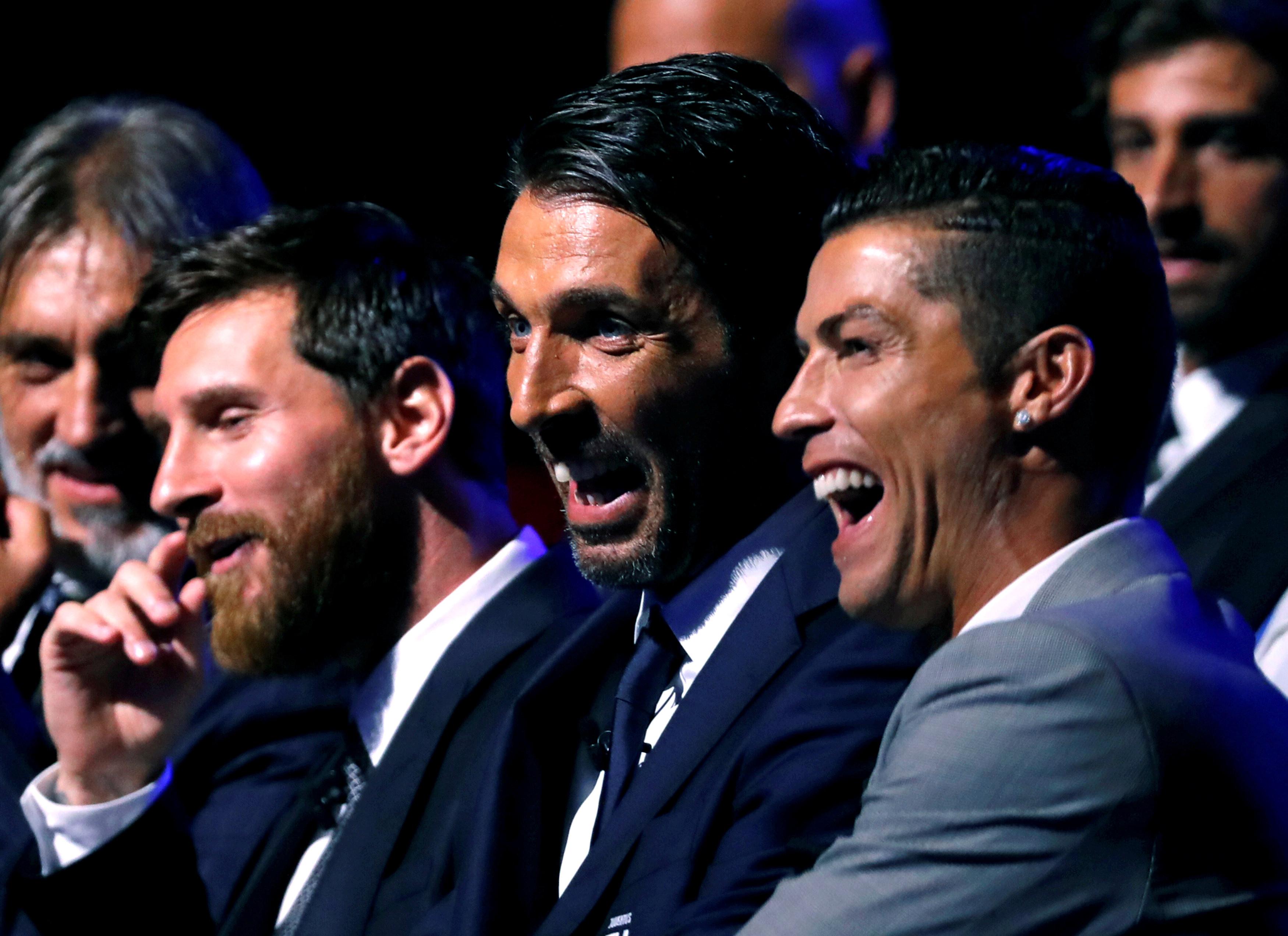 A bonita confissão de Buffon sobre Cristiano Ronaldo