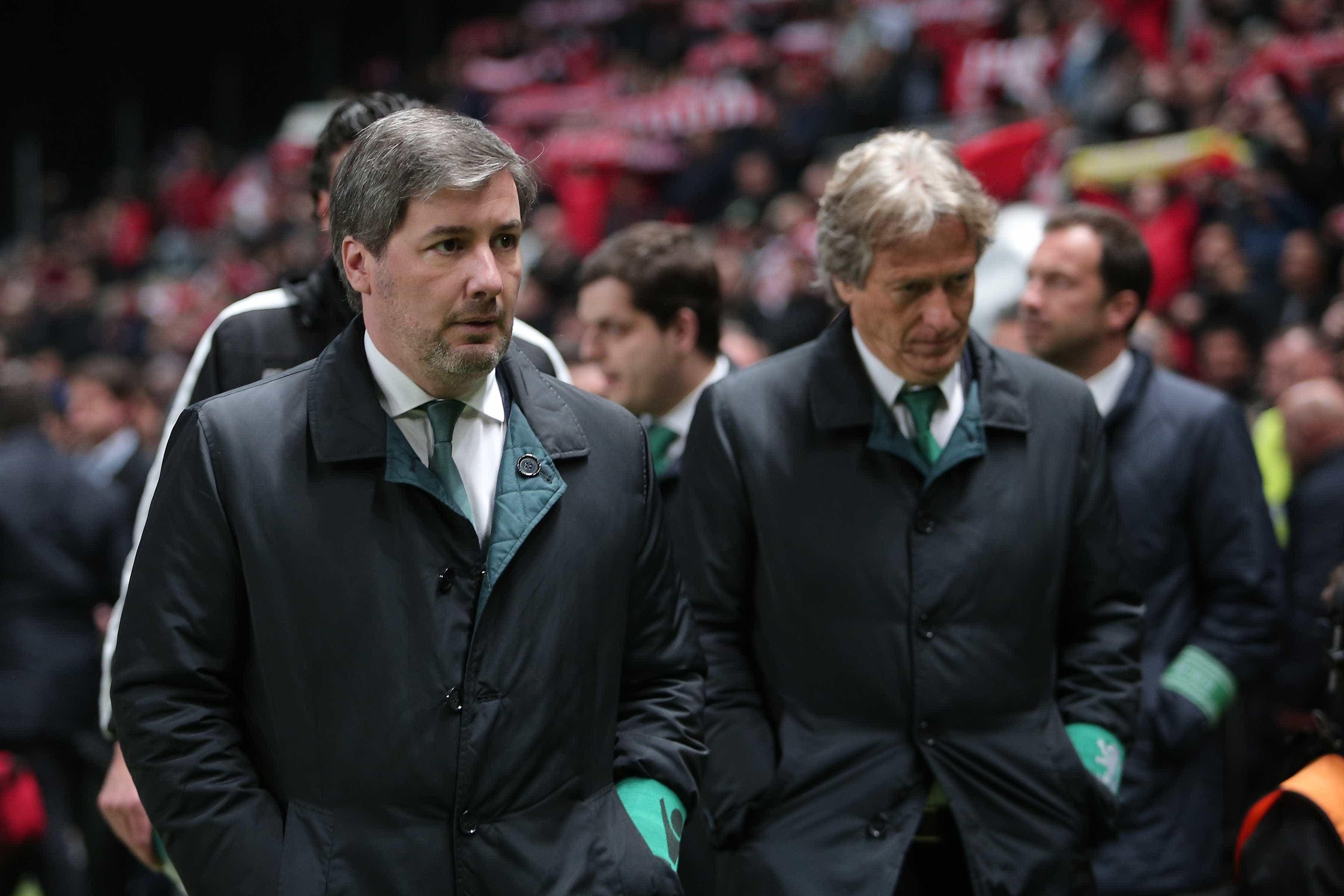 """""""Ao fim de um mês disse ao presidente que queria ir embora do Sporting"""""""