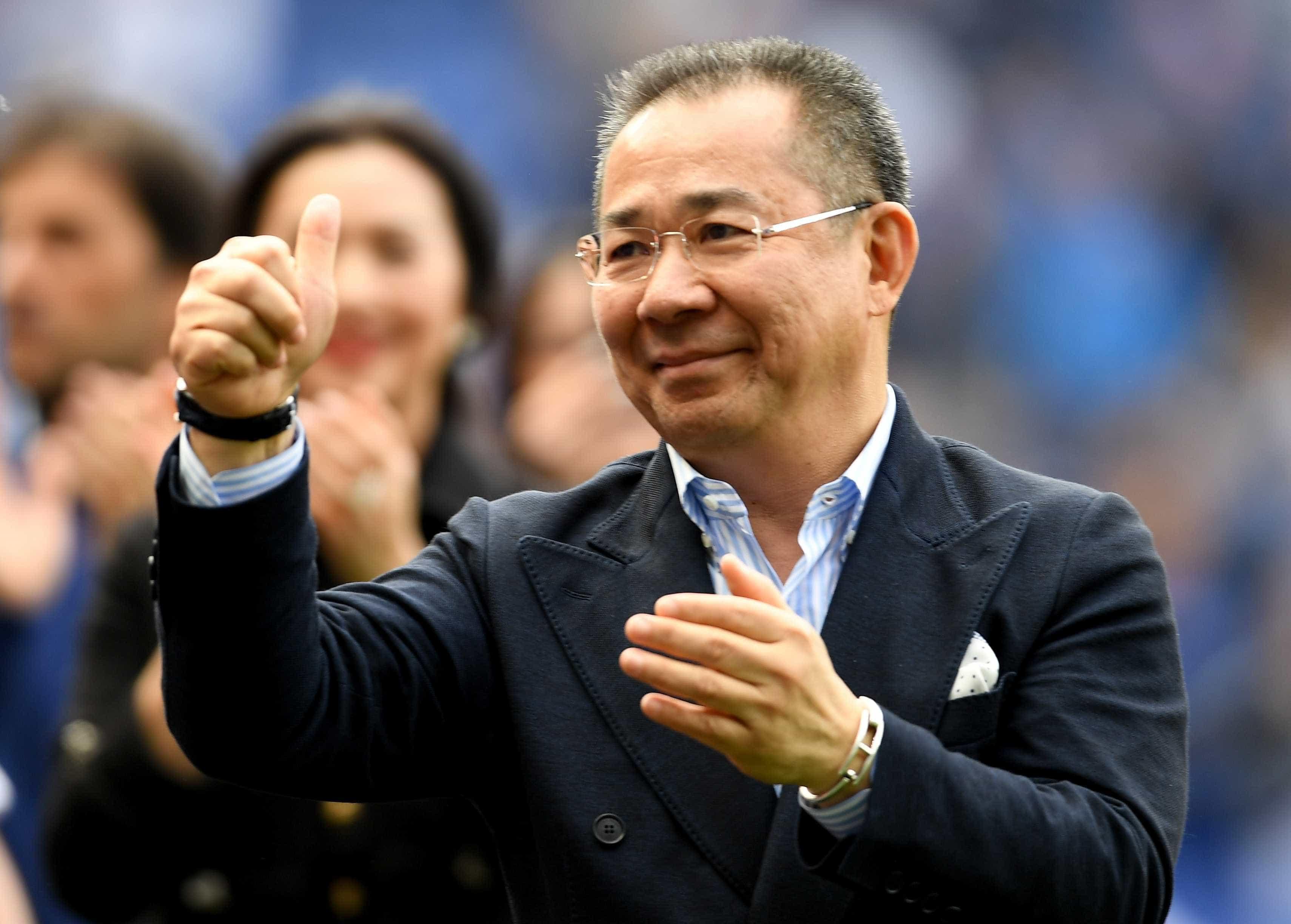 Leicester City confirma morte do presidente do clube