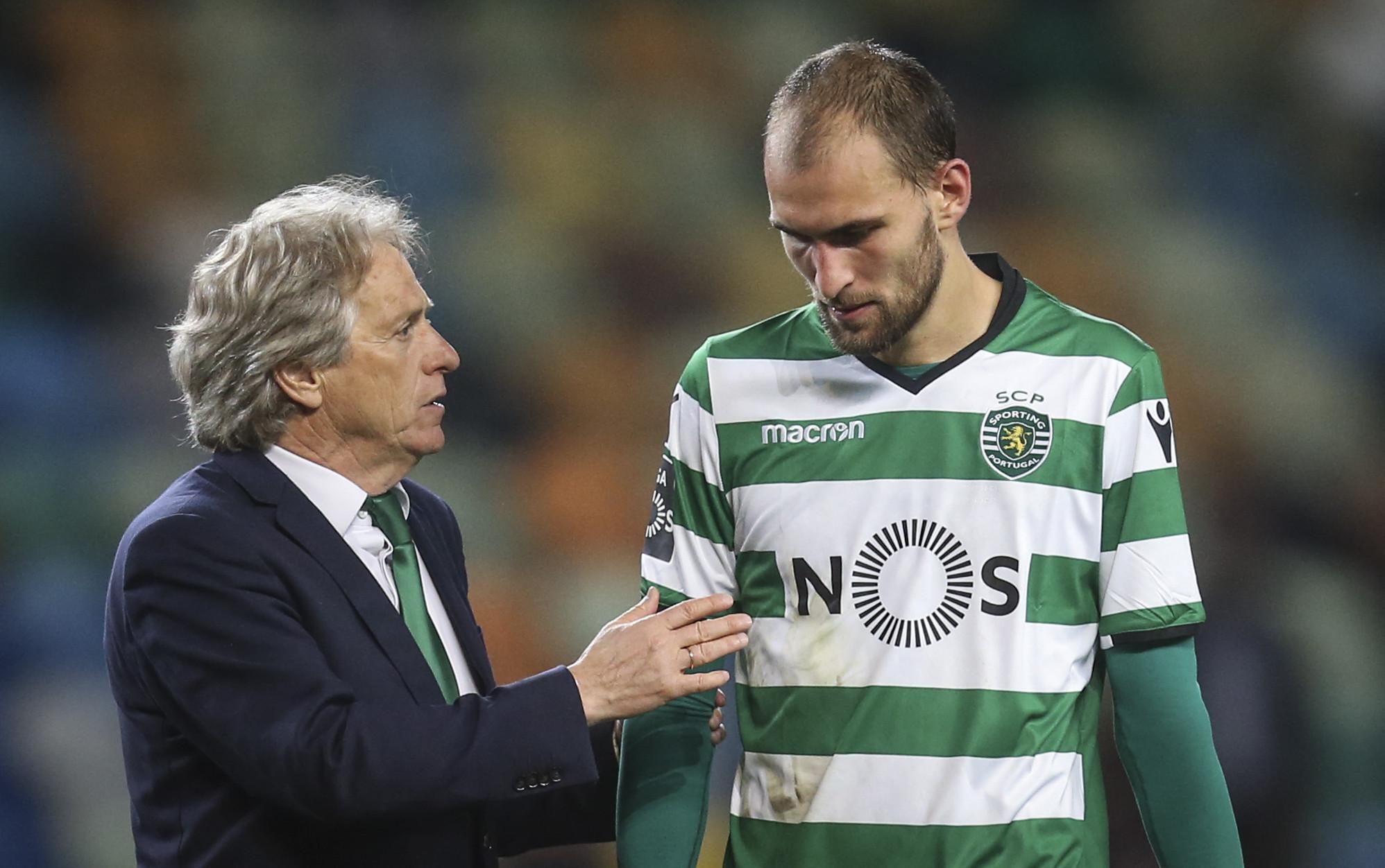 """""""Se não fosse o Jesus, eu nunca teria jogado pelo Sporting"""""""