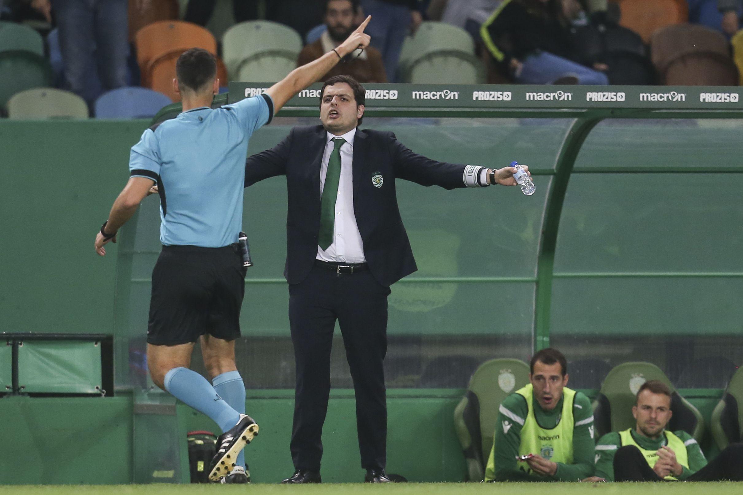 André Geraldes formalizou rescisão com o Sporting