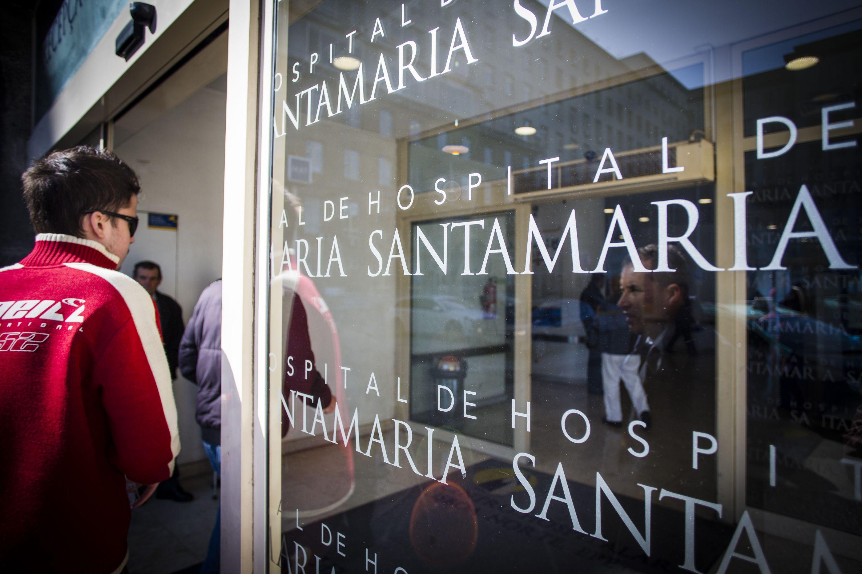 Greve impediu Hospital Santa Maria de receber doente com lesão grave