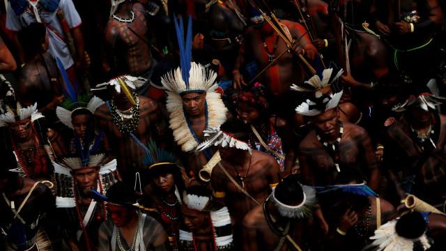 Foram da Amazónia até Nova Iorque denunciar políticas de Bolsonaro