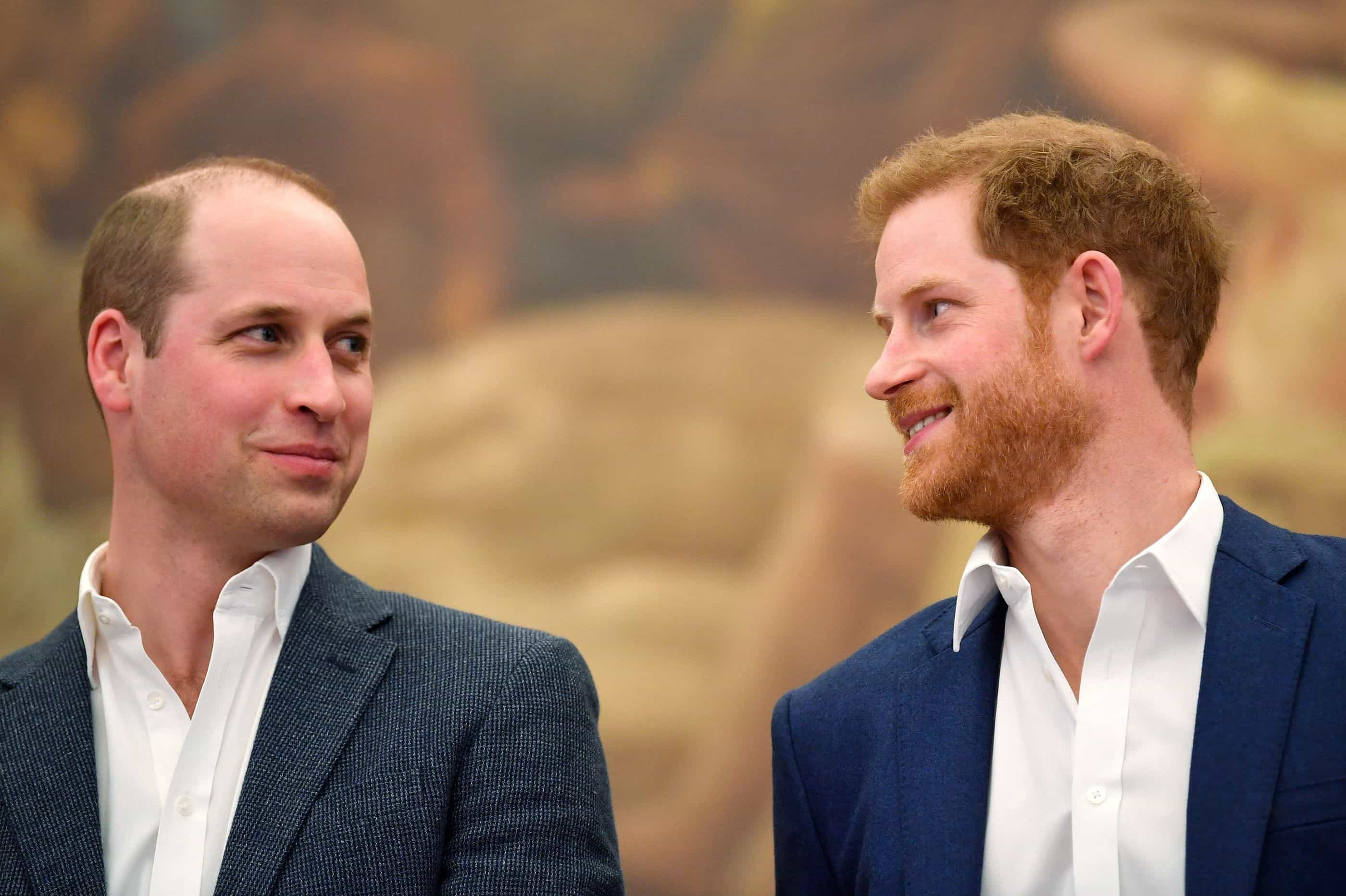 William e Harry cada vez mais afastados